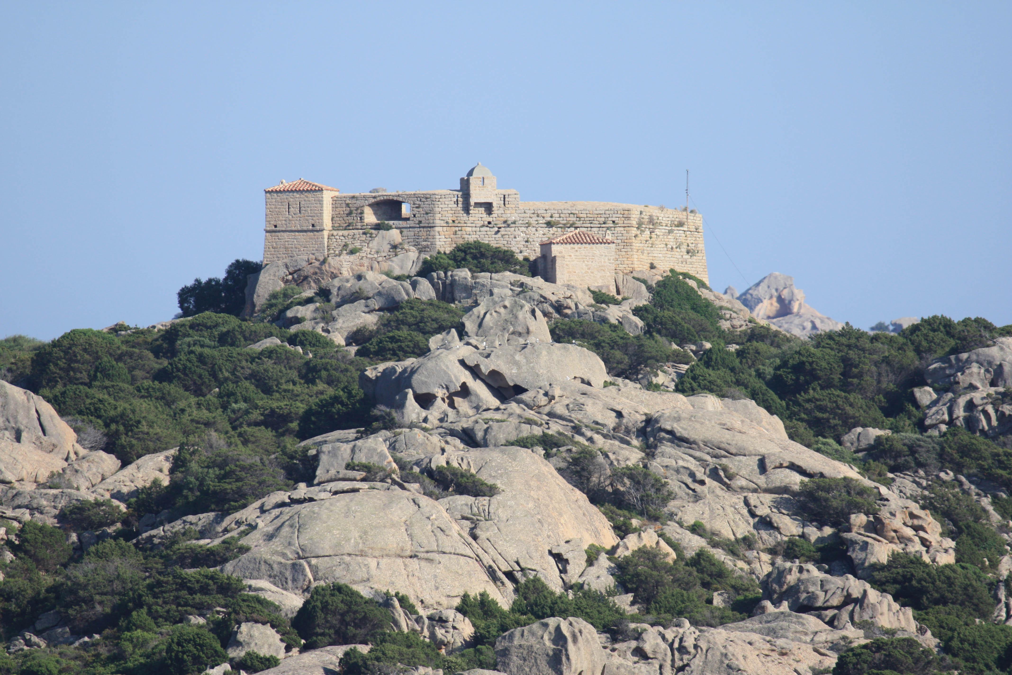 Forte di Napoleone sull'isola Santo Stefano