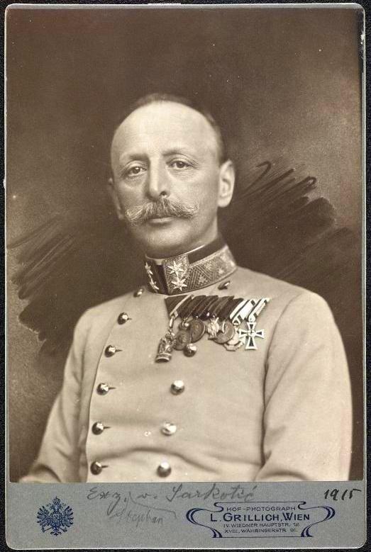 Sarkotić 1915-ben