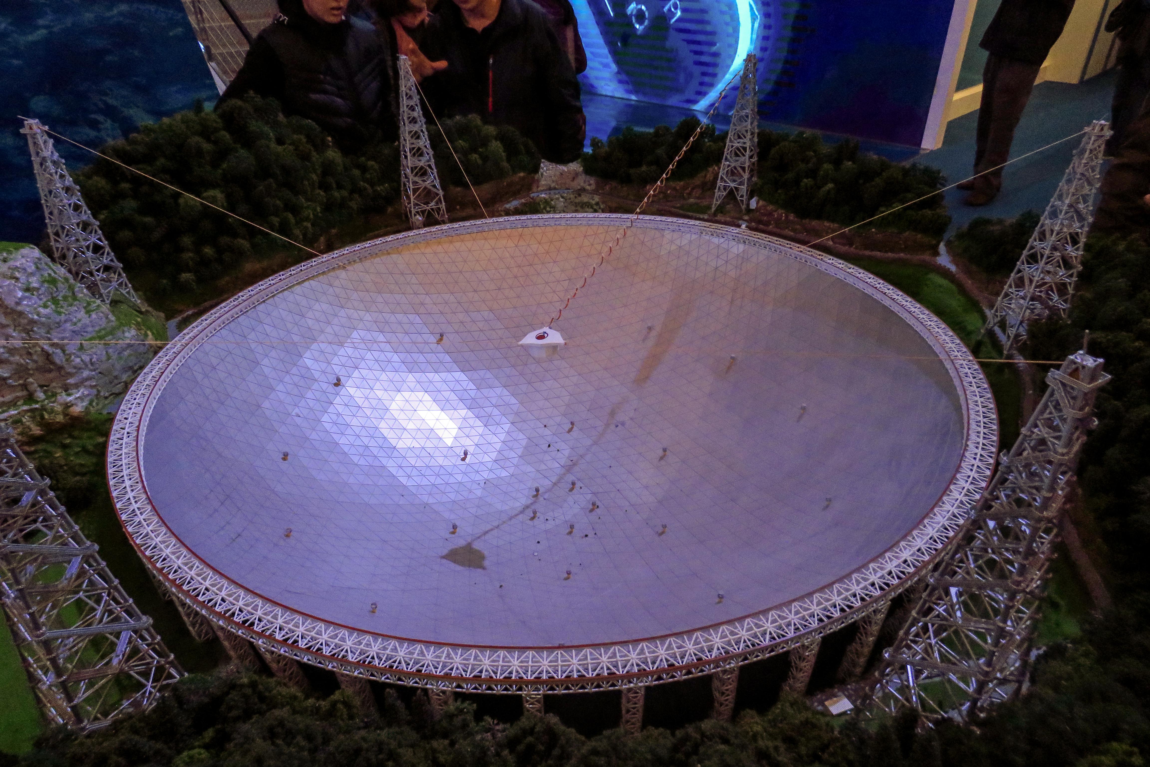 Fast Radioteleskop