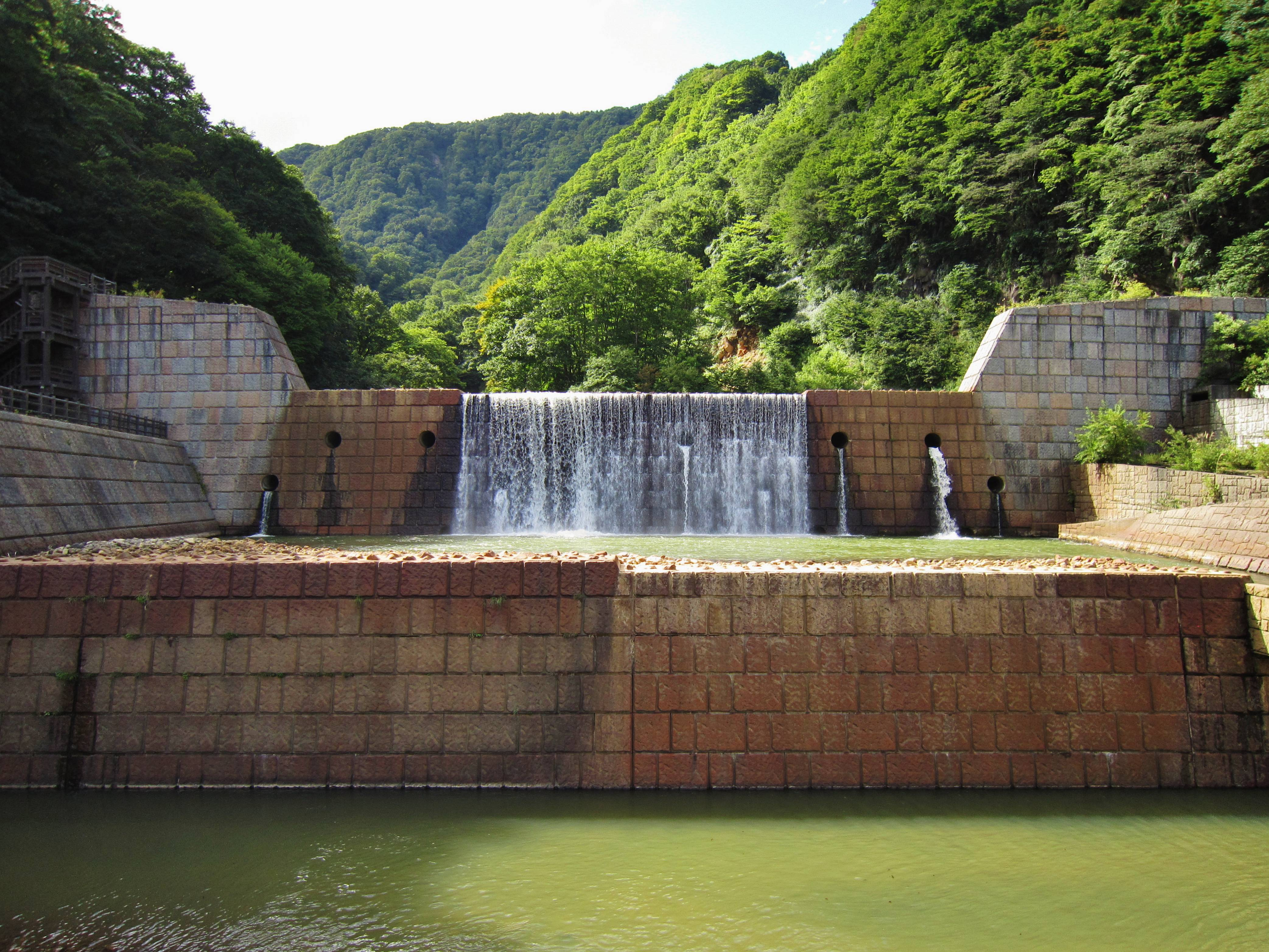 File Seki River No1 Check Dam Jpg Wikimedia Commons