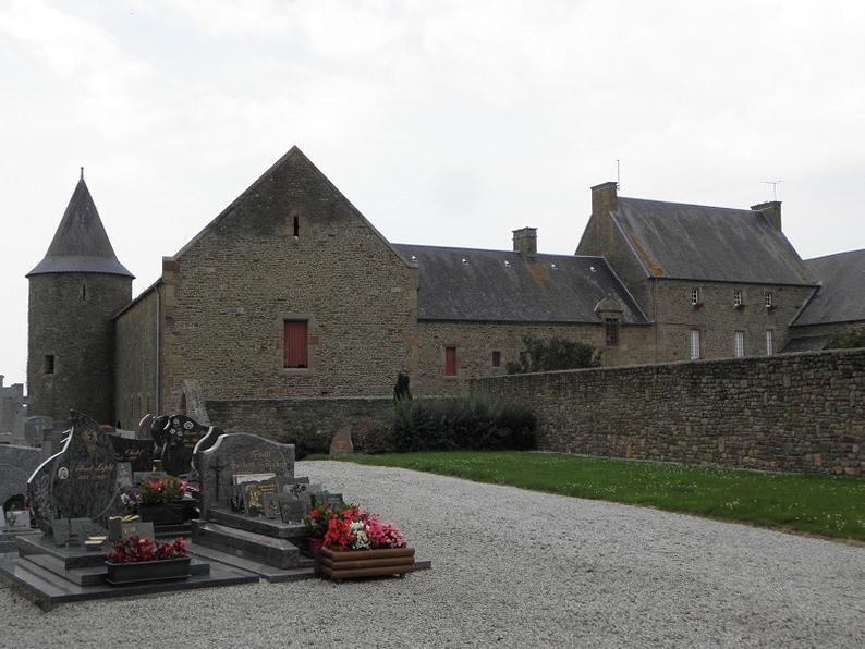 Le Grand Manoir à Servon (50).