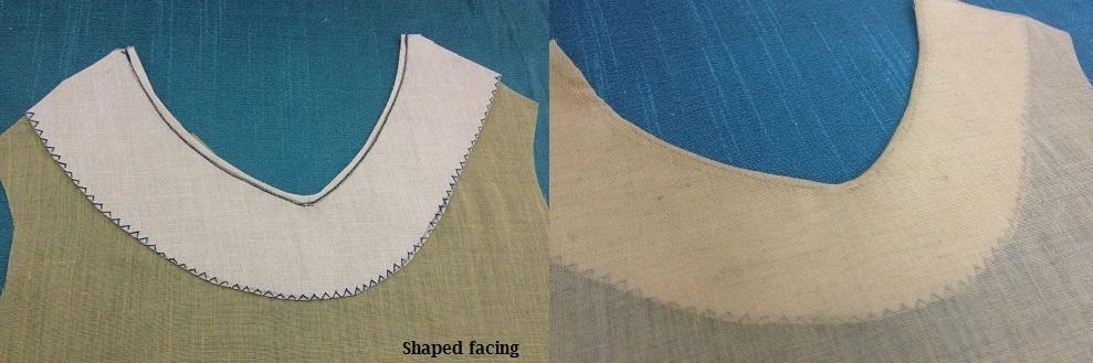 Facing (sewing) - Wikipedia