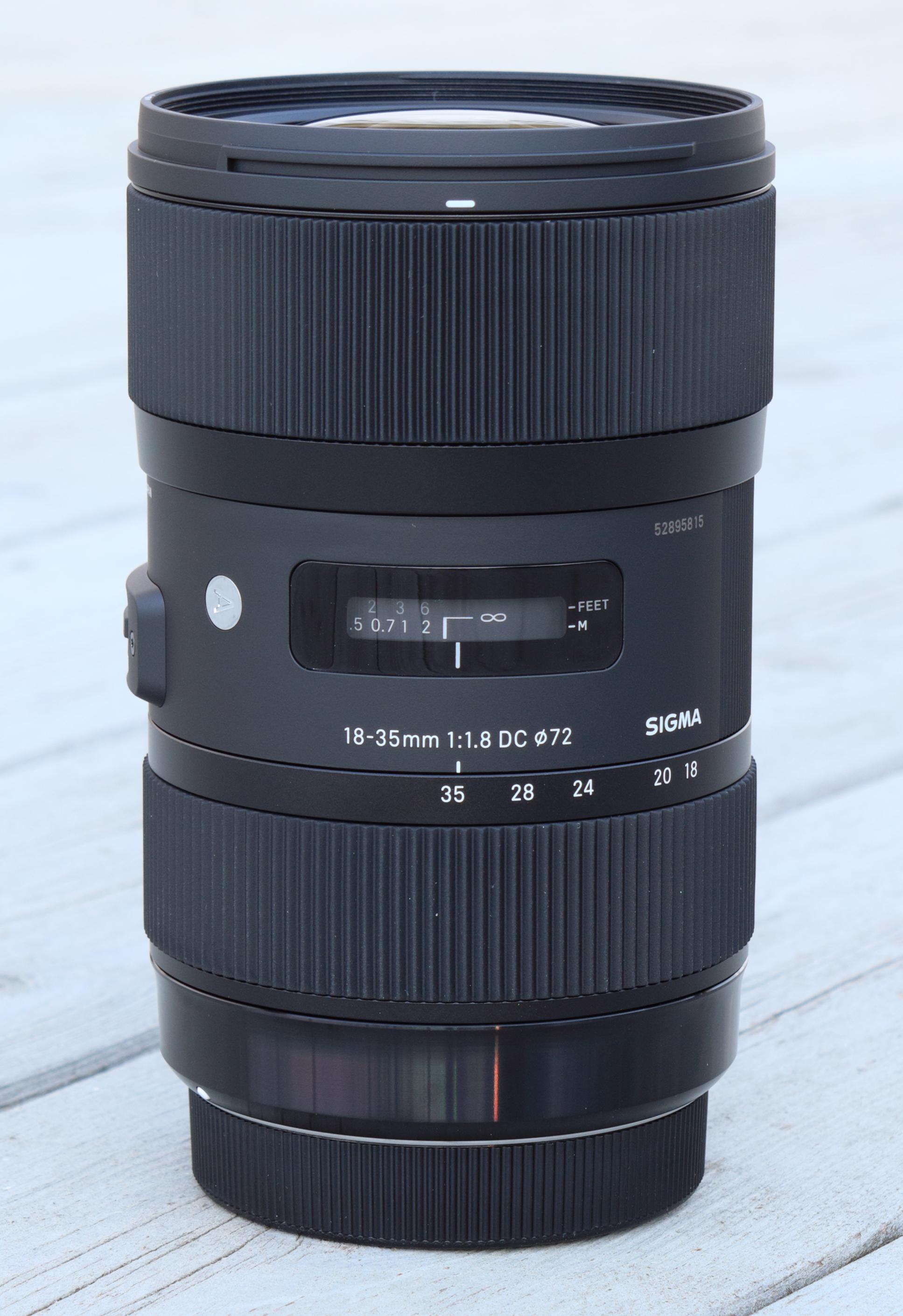 Sigma Hood for 18-35mm f//1.8 Art DC HSM Lens