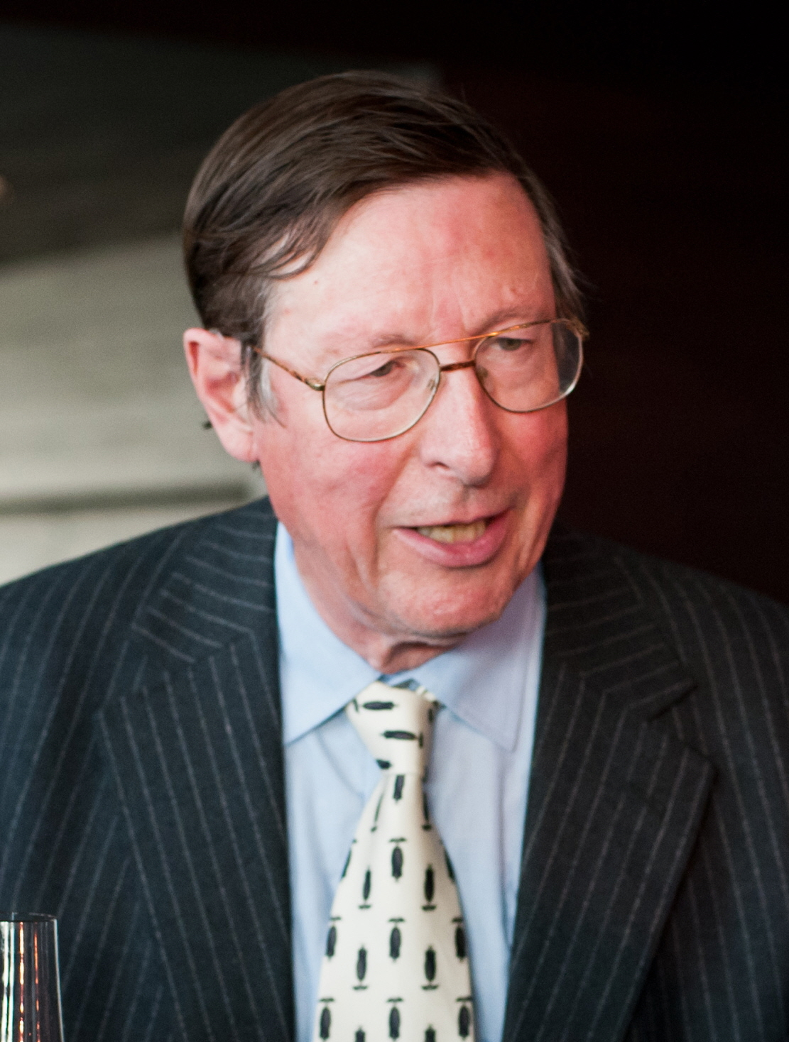 Max Hastings at the Financial Times 125th Anniversary Party, London, in June 2013