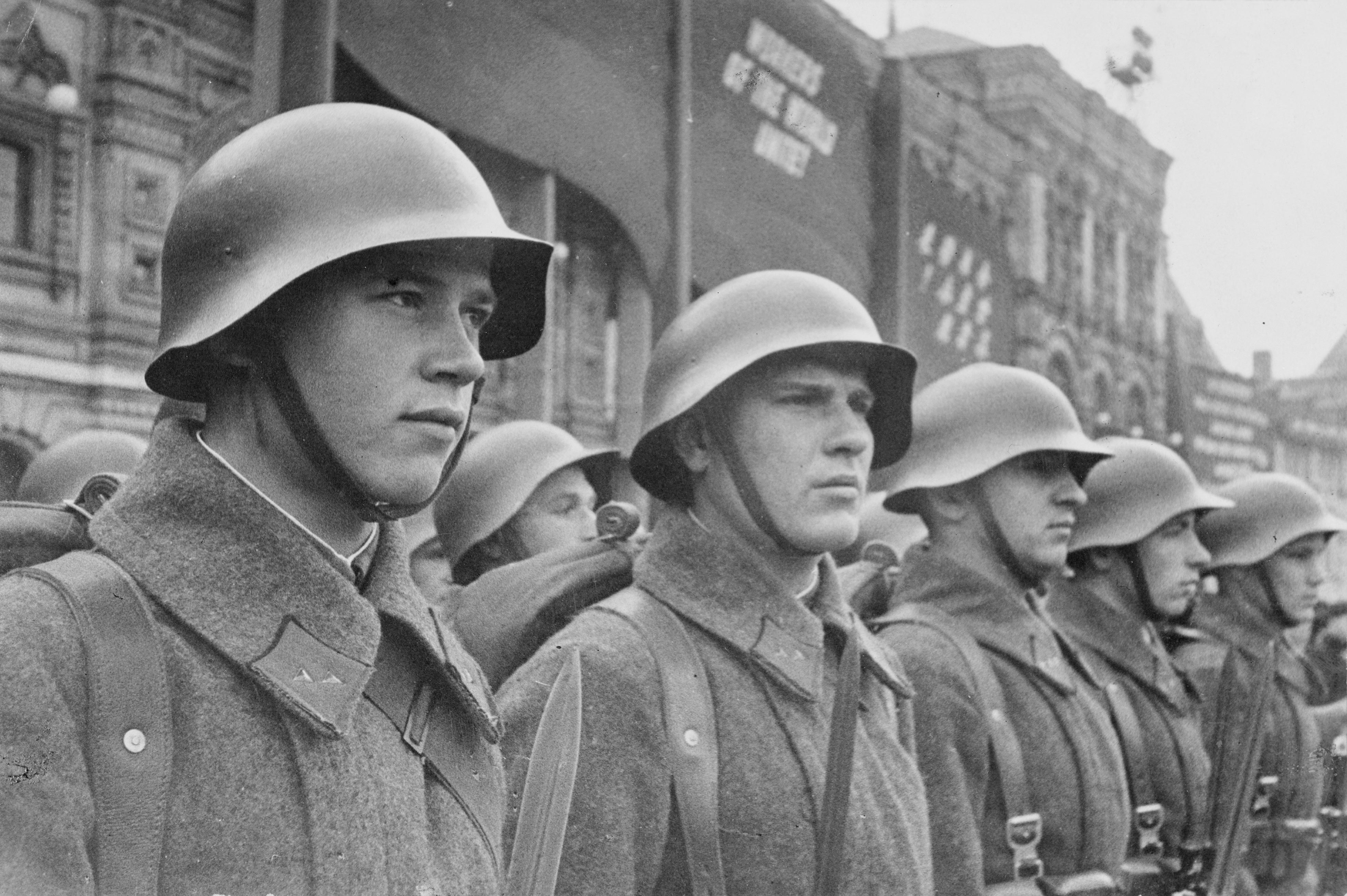 Beschreibung soldaten rote armee