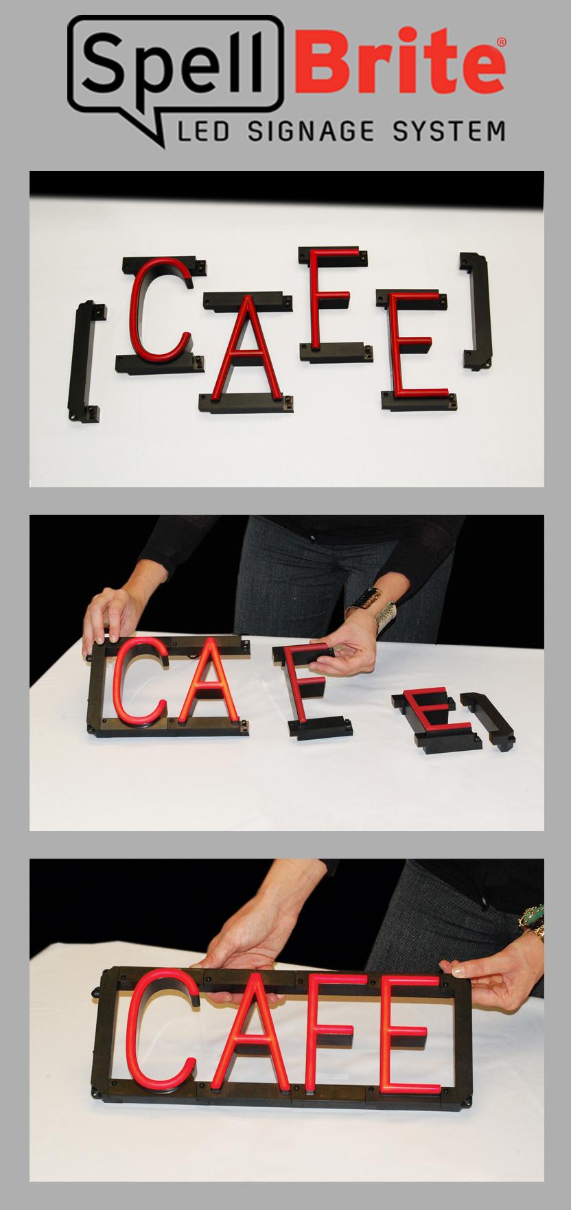 Filespellbrite Neon Led Custom Signage Changable Letters