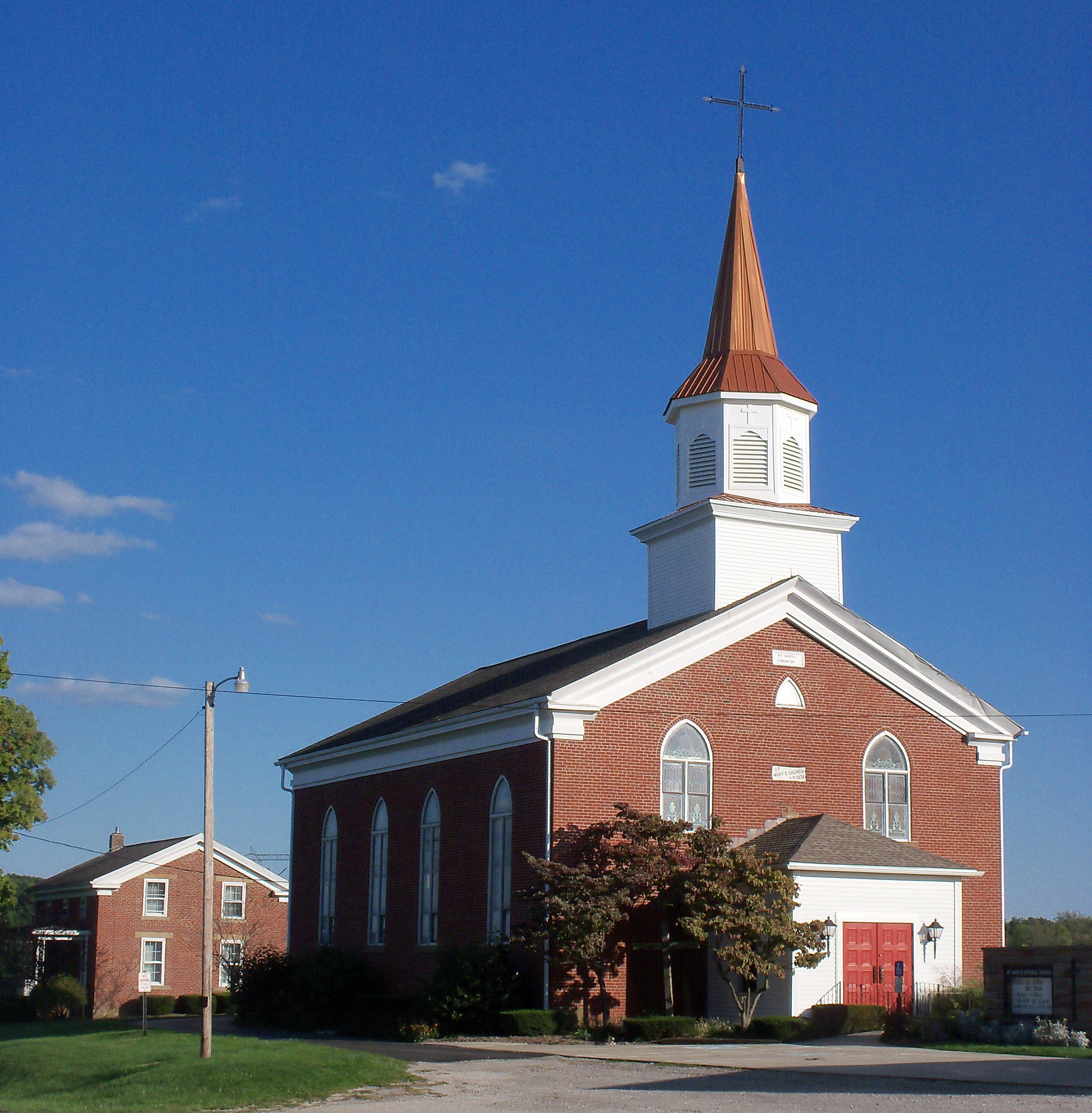 File St Mary S Morges Ohio 2012 09 16 Jpg Wikimedia