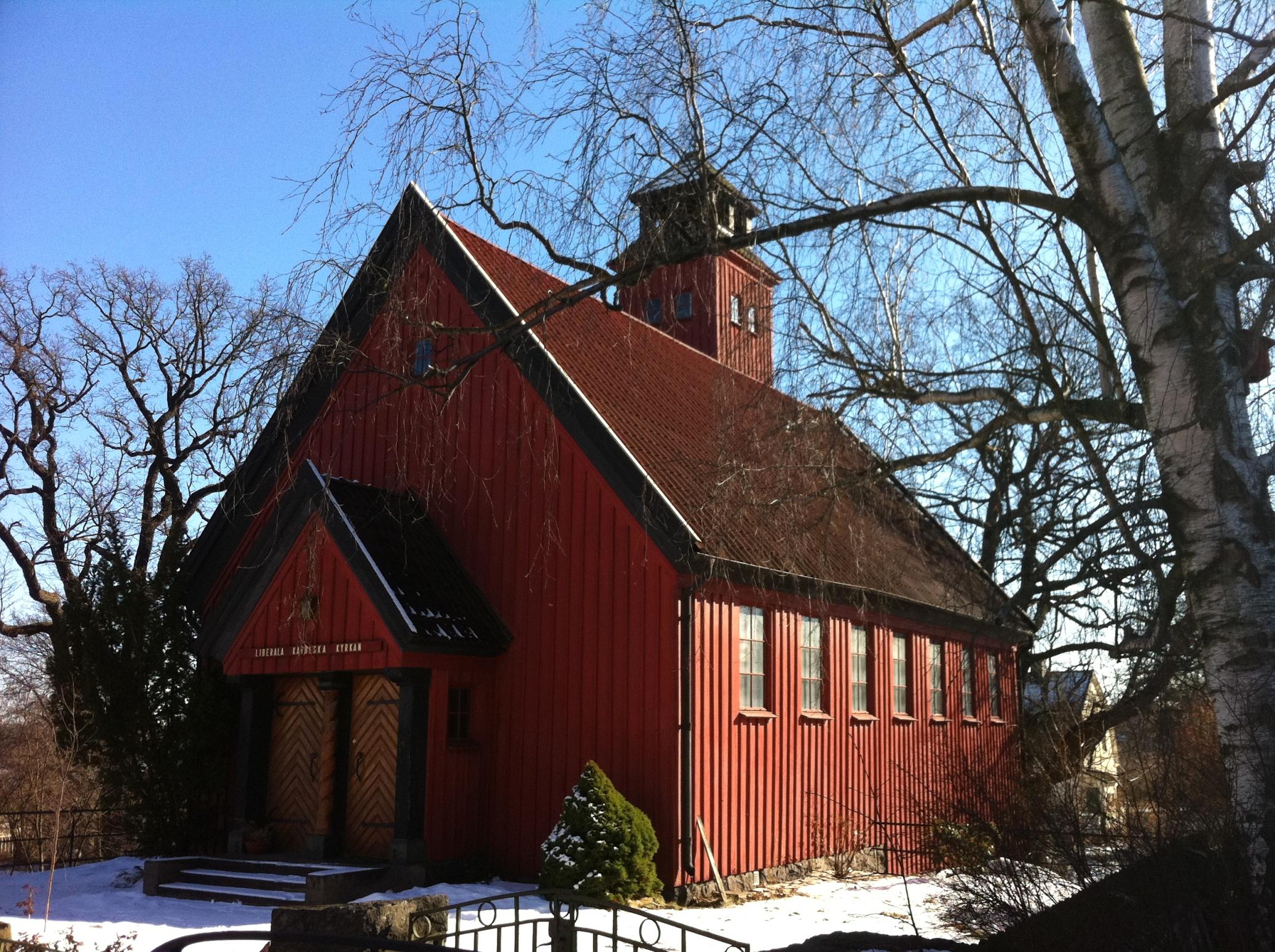 Bild av S:t Mikaels och Alla Änglars kyrka