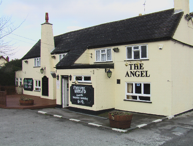 Creative Commons image of The Angel Inn in Coalville