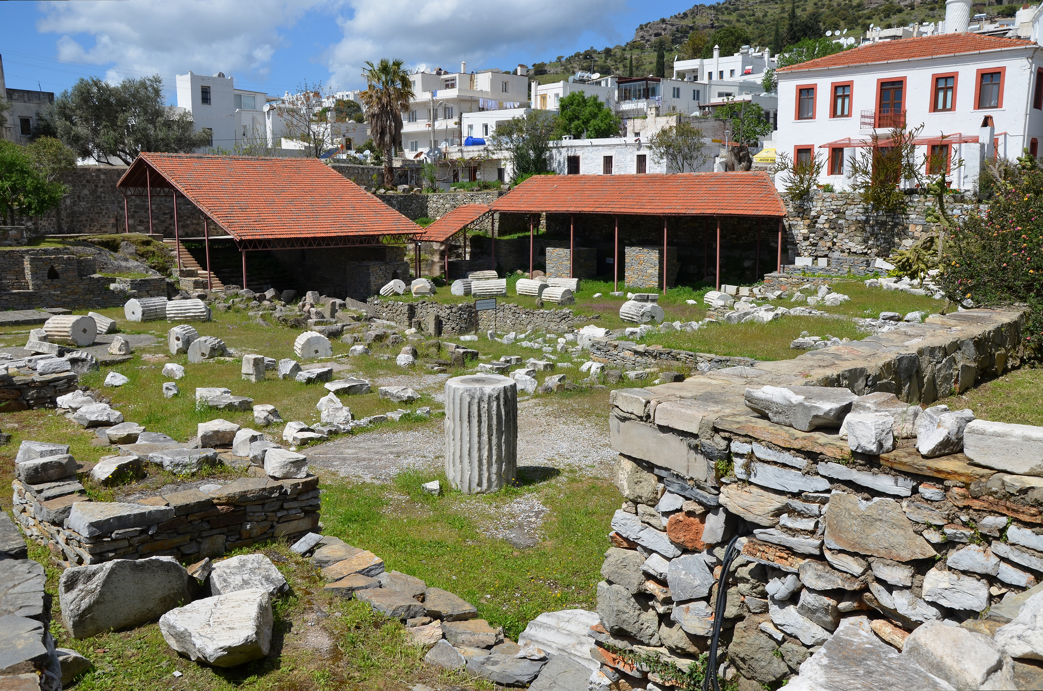 The site of Mausoleum of Halicarnassus.