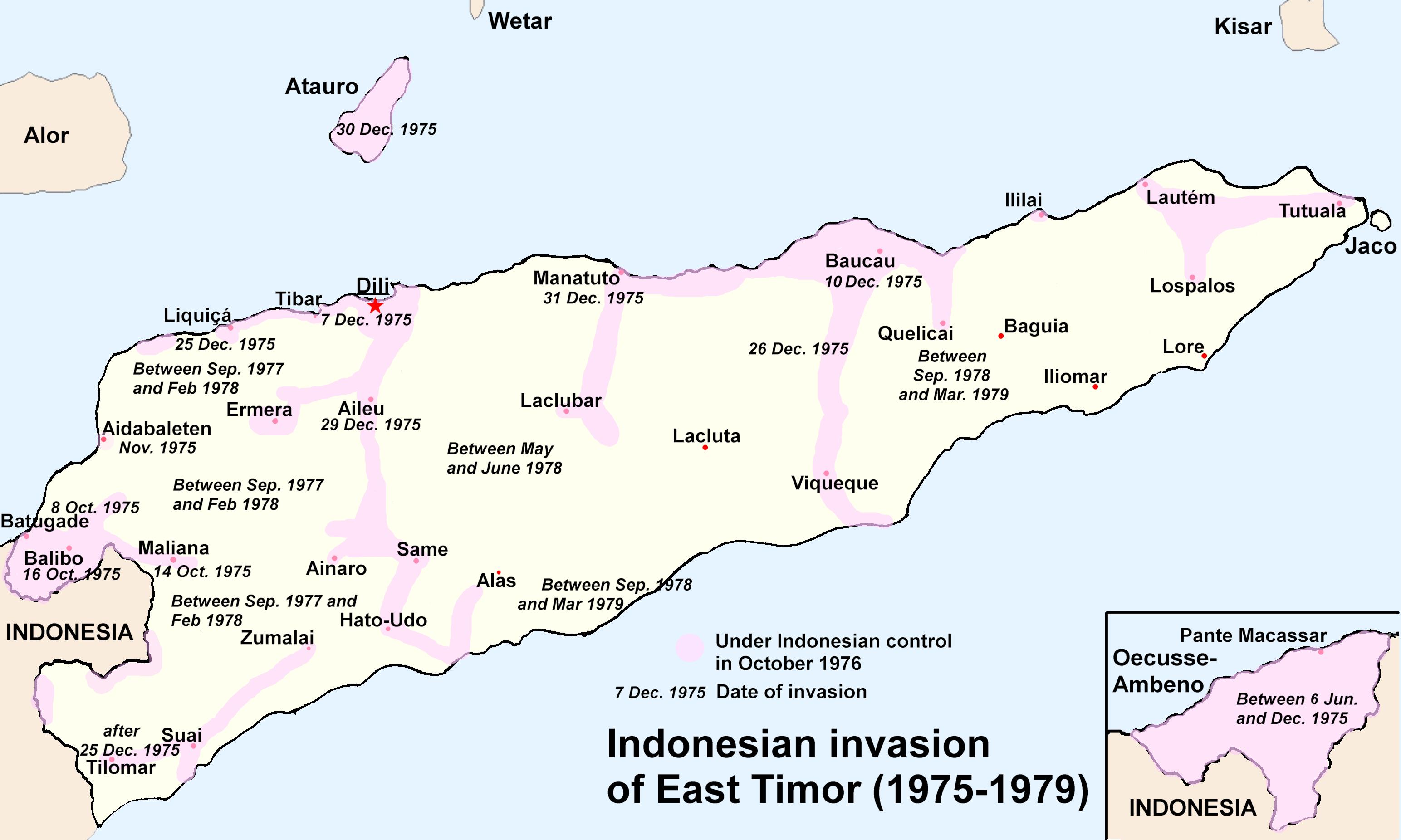 East Timor profile - Timeline