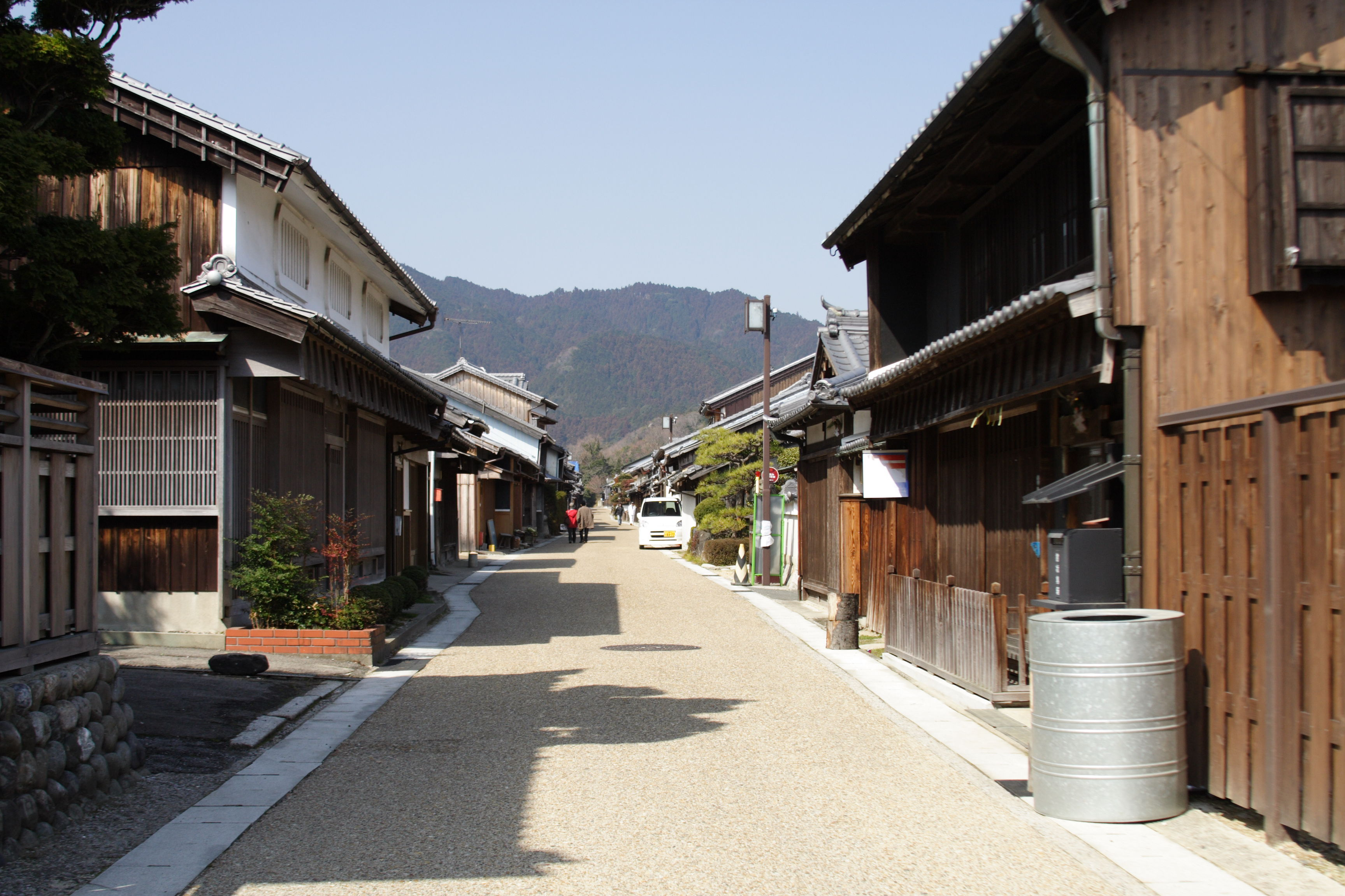 The Station Town of Seki on Tokaido