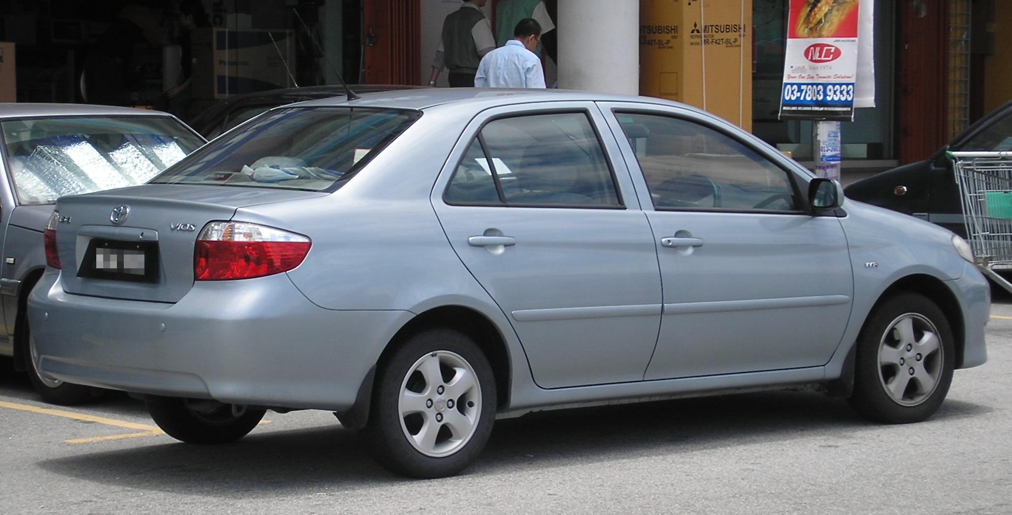 File:Toyota Vios (first generation) (rear), Serdang.jpg