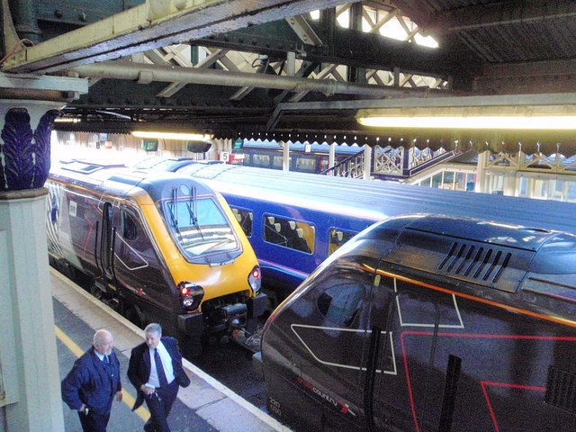 File Train Jam At Exeter St Davids Geograph Org Uk 1164024 Jpg