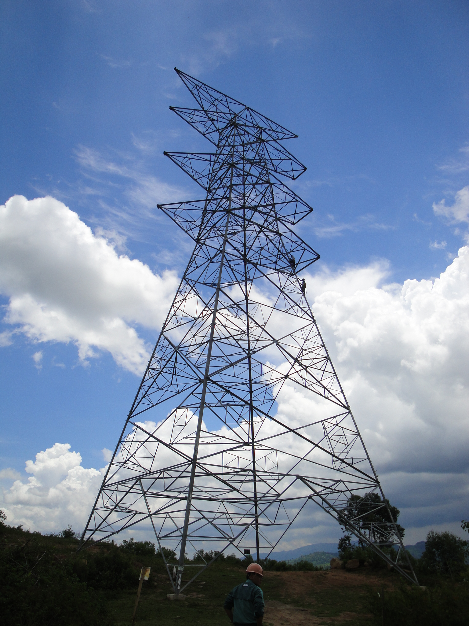 File Transmission Line Tower Jpg Wikimedia Commons