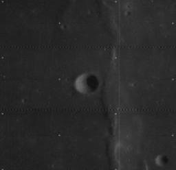 Very (lunar crater) lunar crater