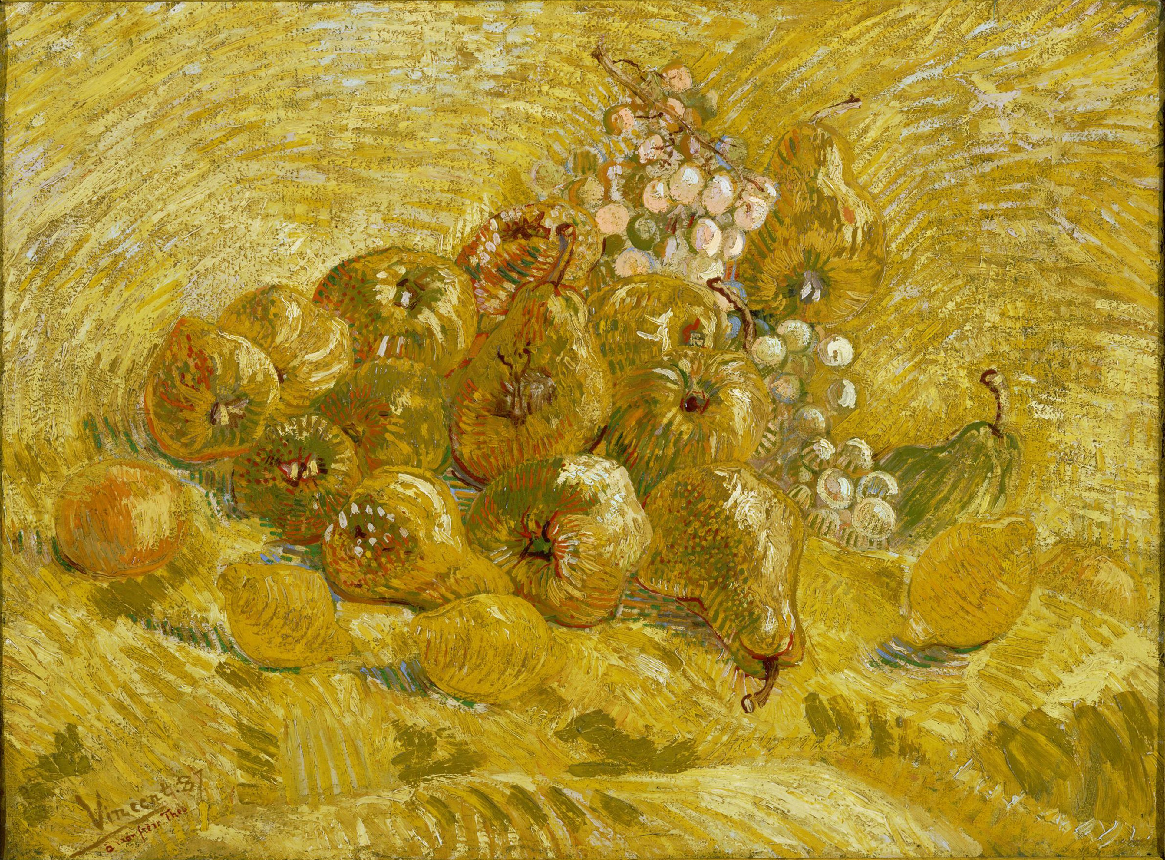 Quinces, Vincent van Gogh