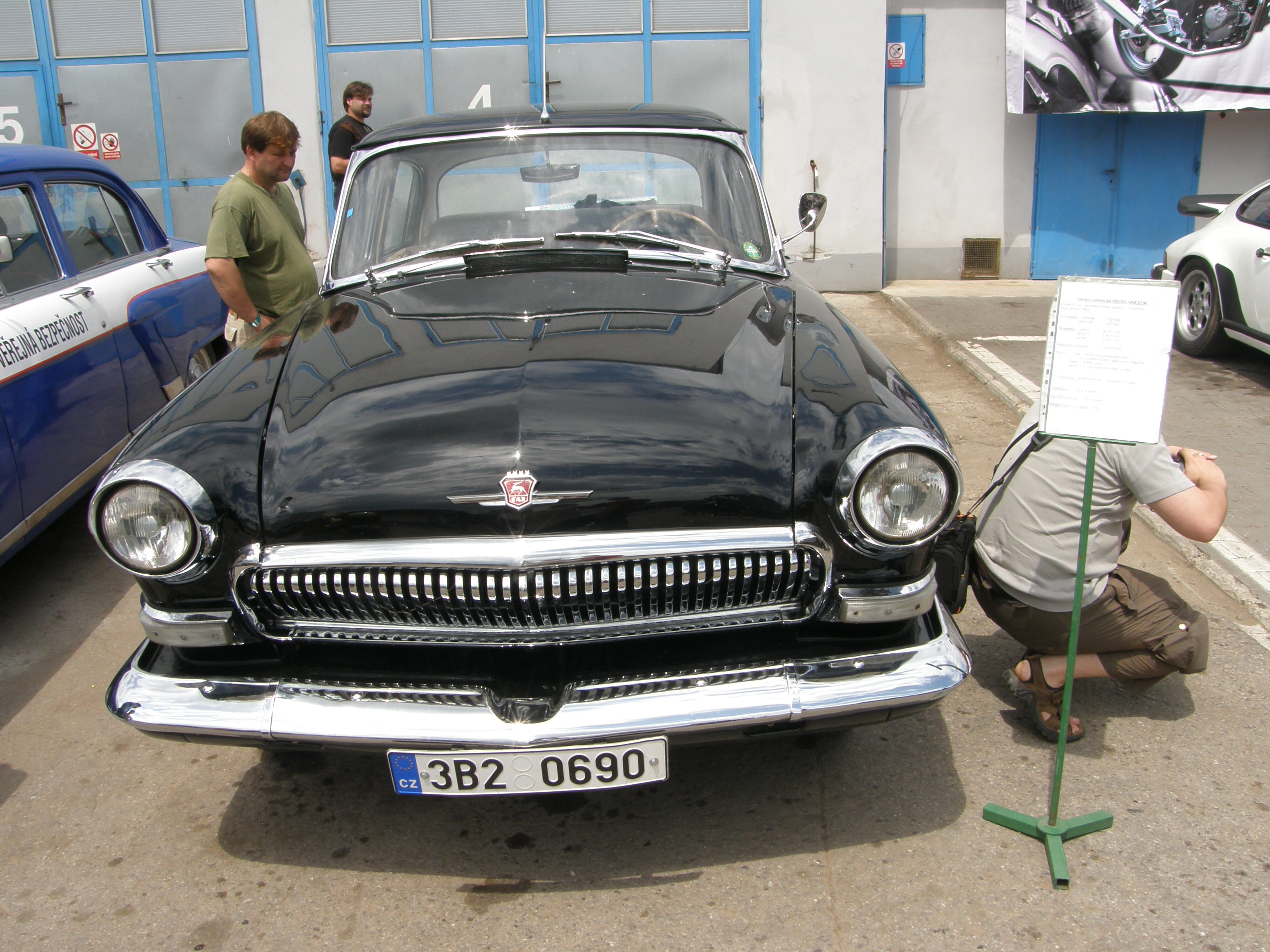 Description volga gaz 21 m