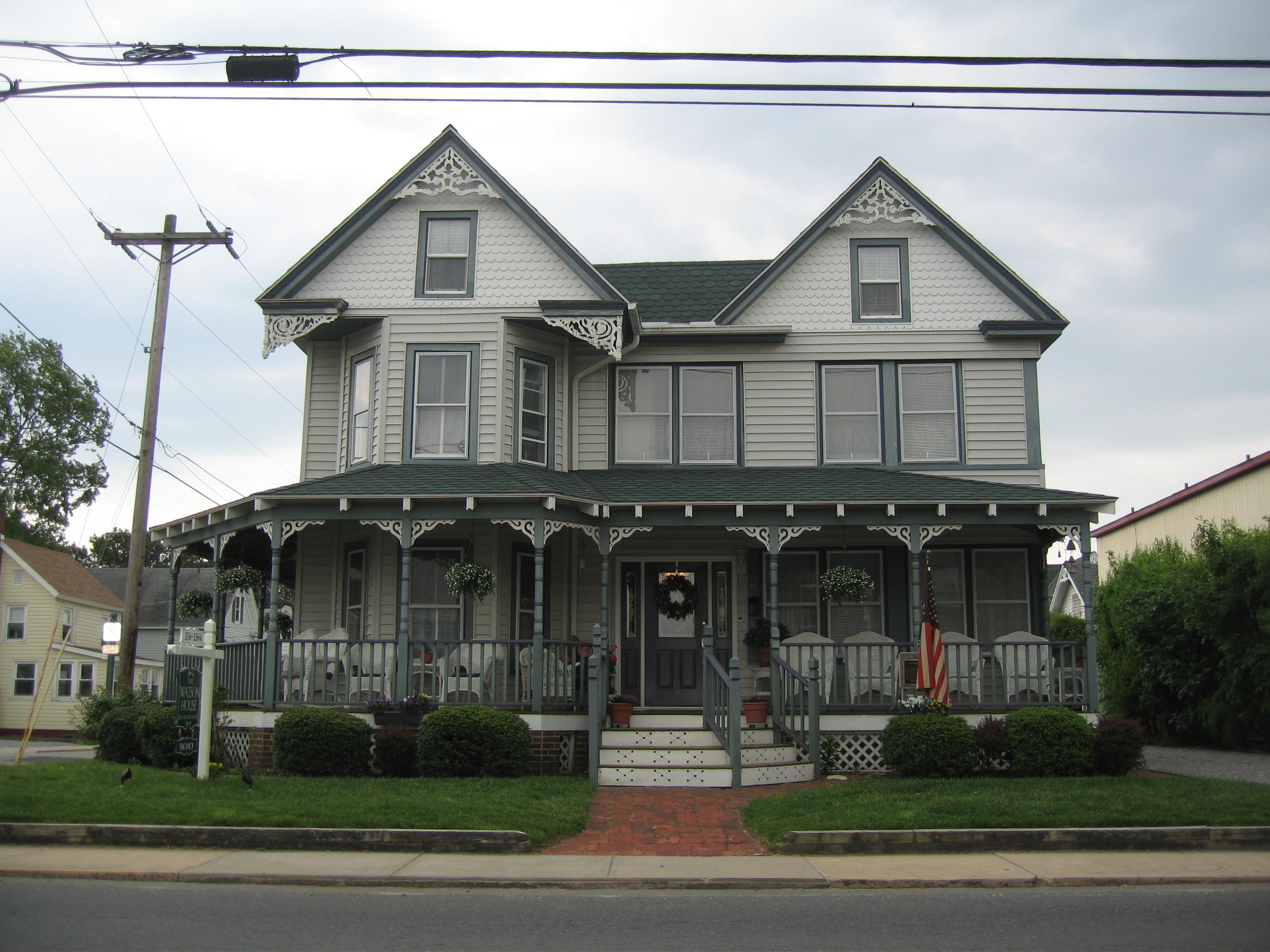 File Watson House Chincoteague Island Virginia Front 1 Jpg