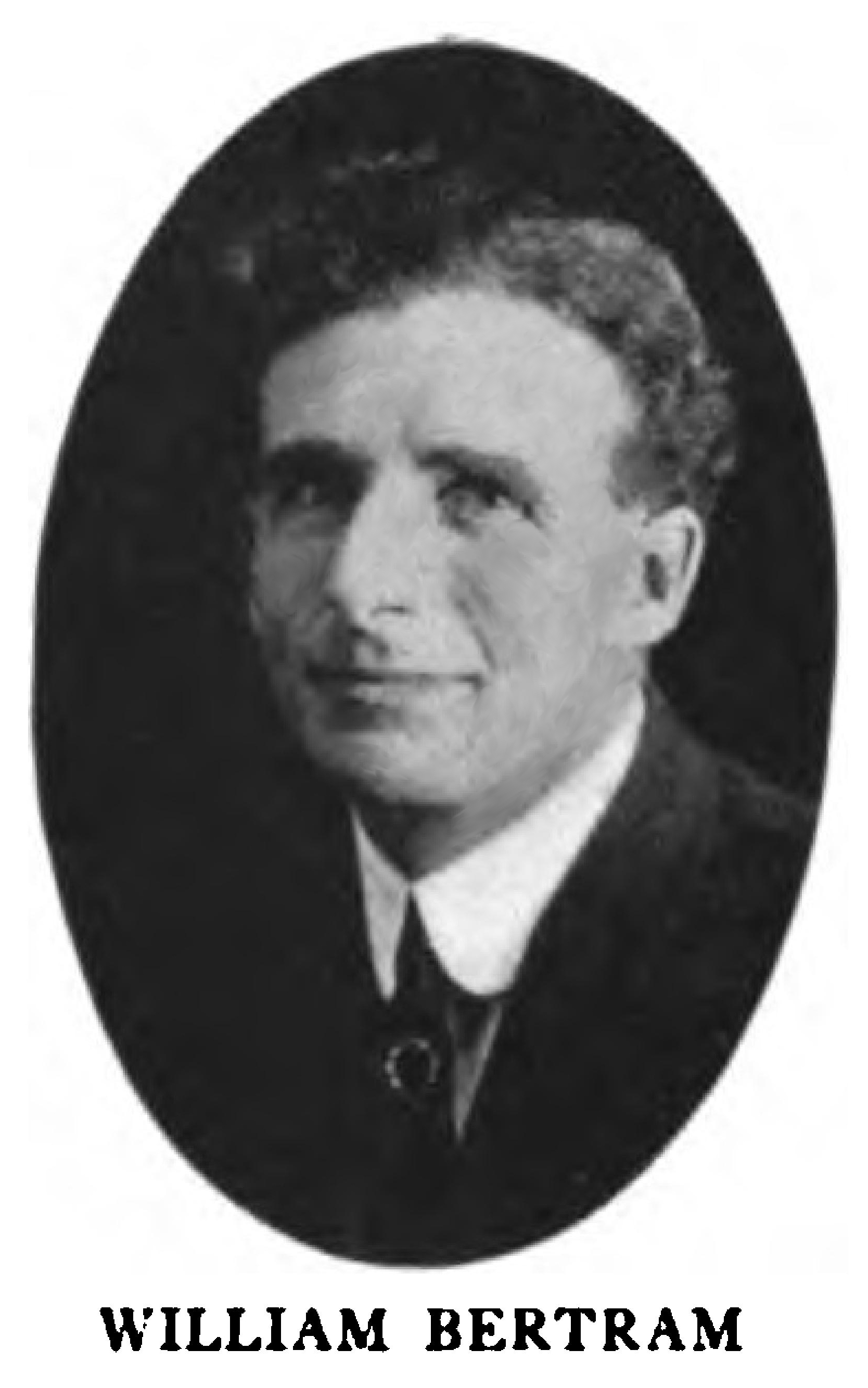 William Bertram