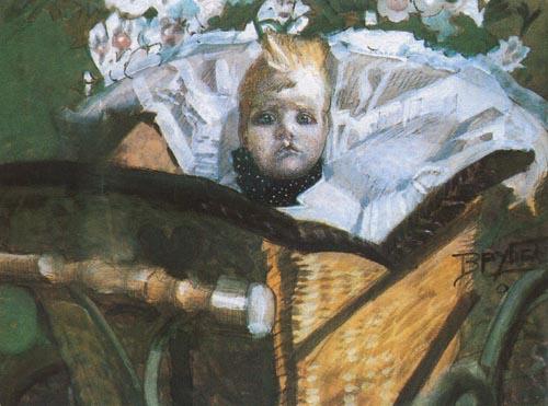 Портрет сына художника. 1902, Государственный Русский музей