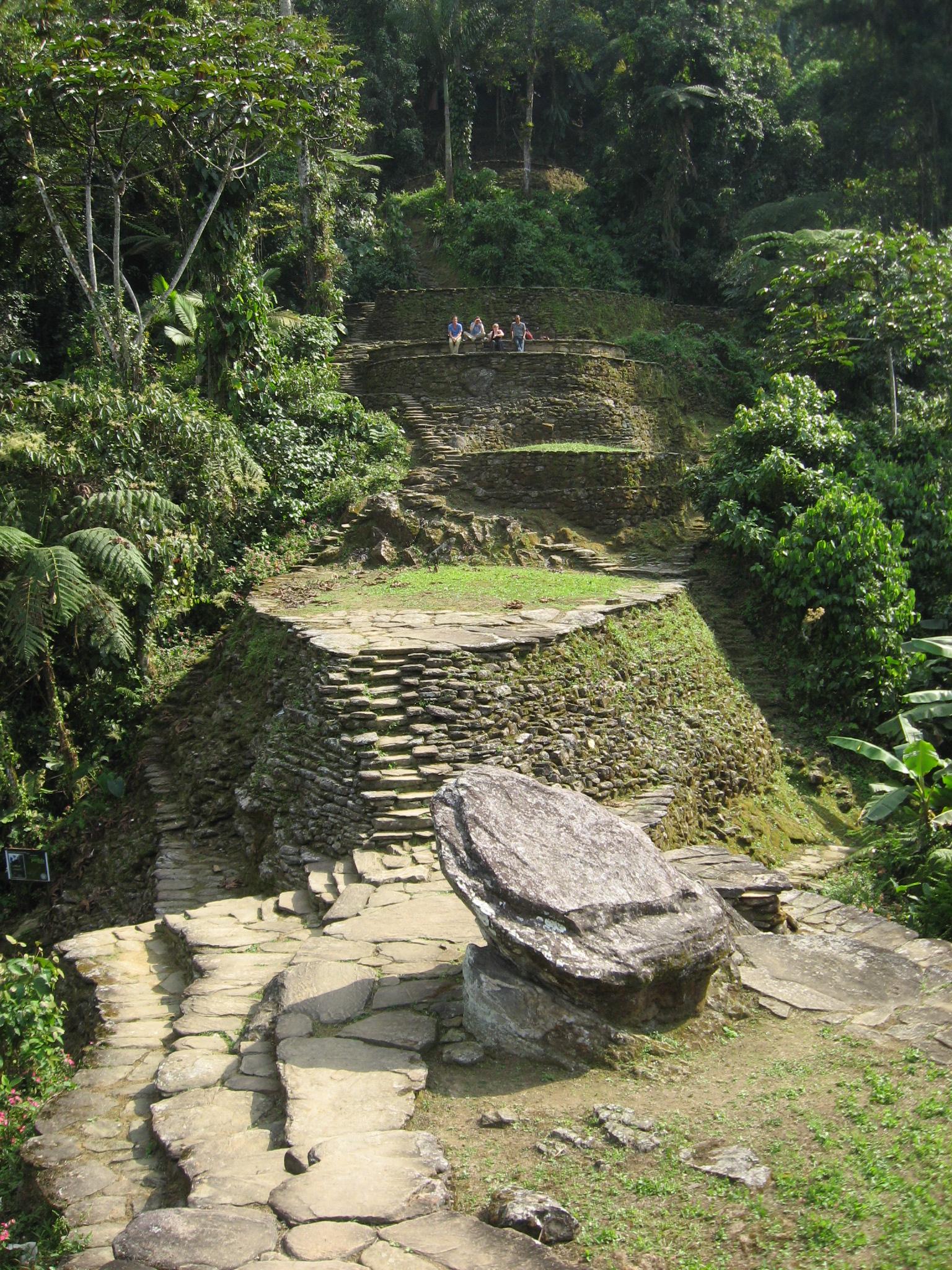 Ciudad perdida wikipedia la enciclopedia libre for Terrazas tayrona
