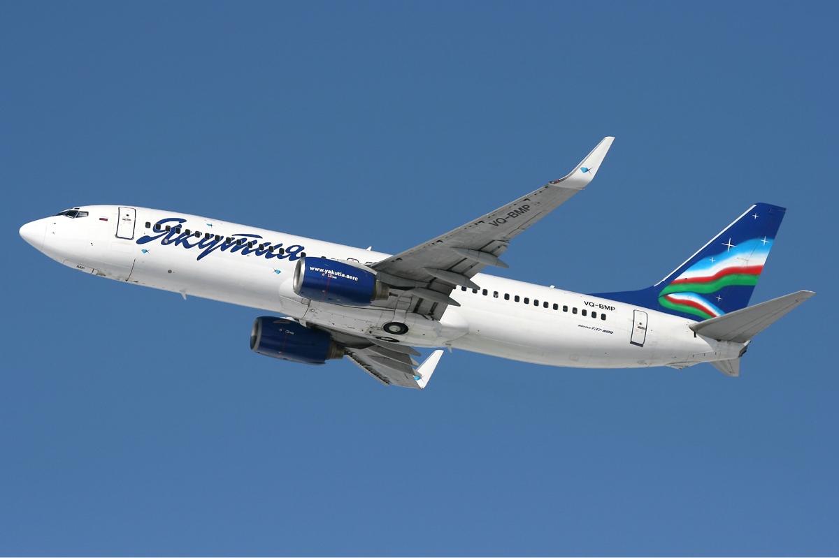 Resultado de imagen para Yakutia Airlines Boeing 737-800