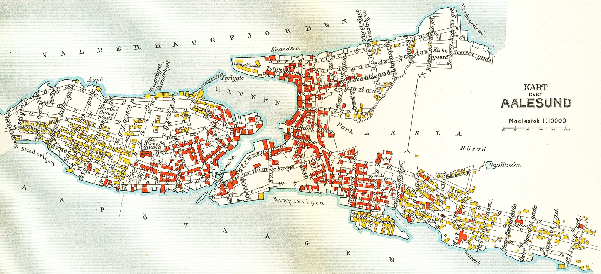 ålesund kart File:Ålesund map 1911.   Wikimedia Commons