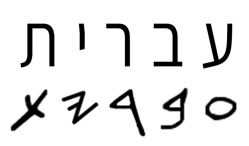 Paleo-Hebrew alphabet - Wikipedia
