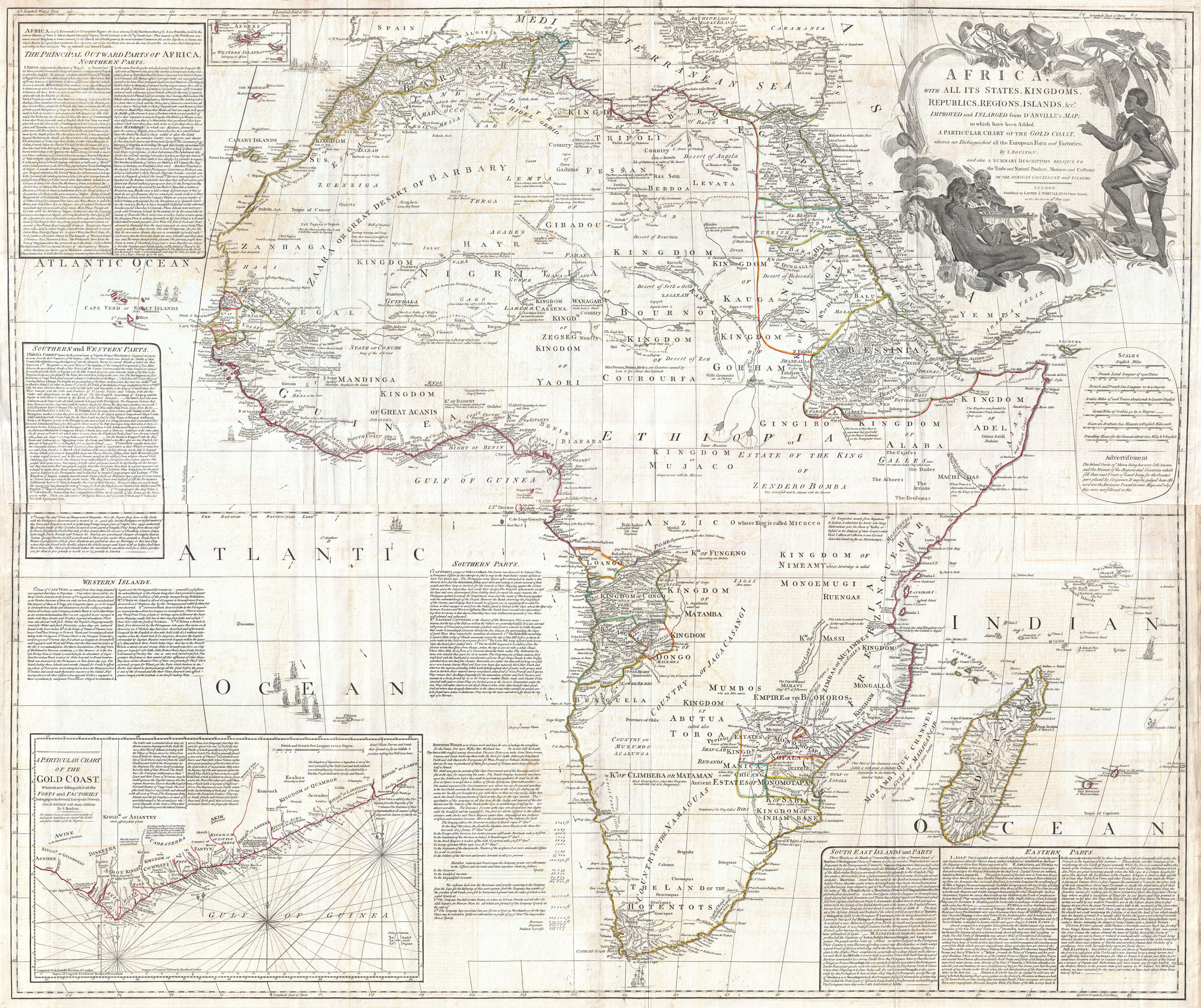 File:1794 Boulton and Anville Wall Map of Africa (most important ... Africa Wall Maps