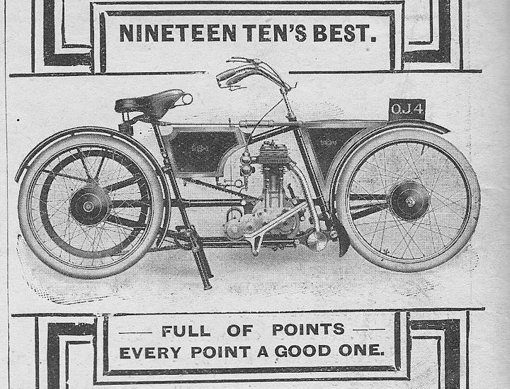 File:1910 new pattern james motorcycle with hub centre steering in 1910 British The Motorcycle magazine.jpg