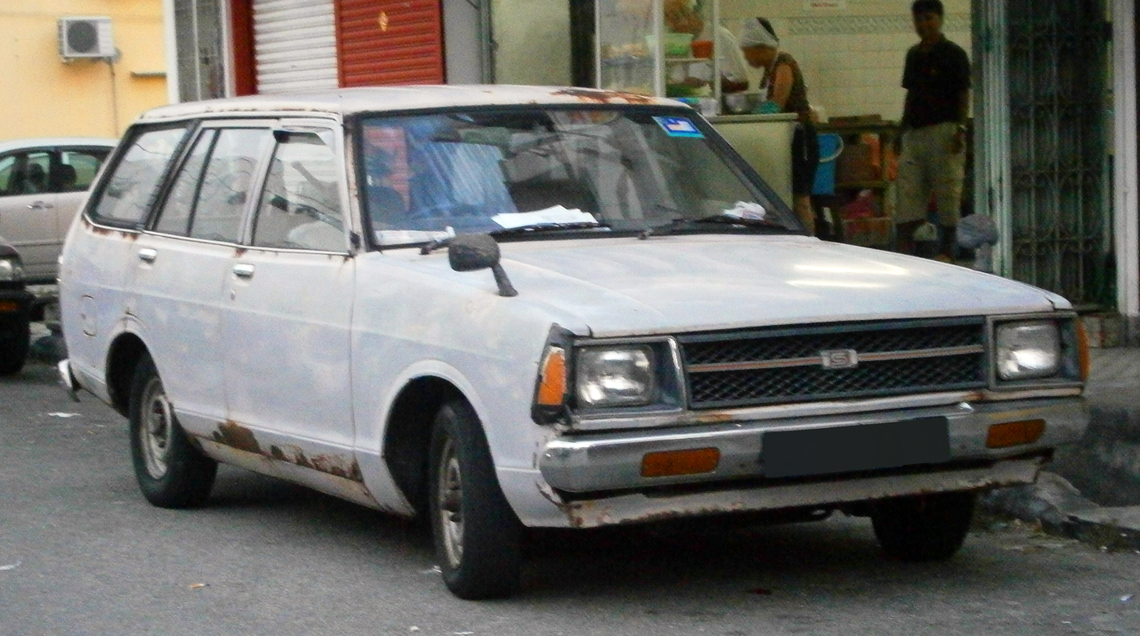 File 1984 Datsun 120y B310 5 Door Station Wagon In Ipoh