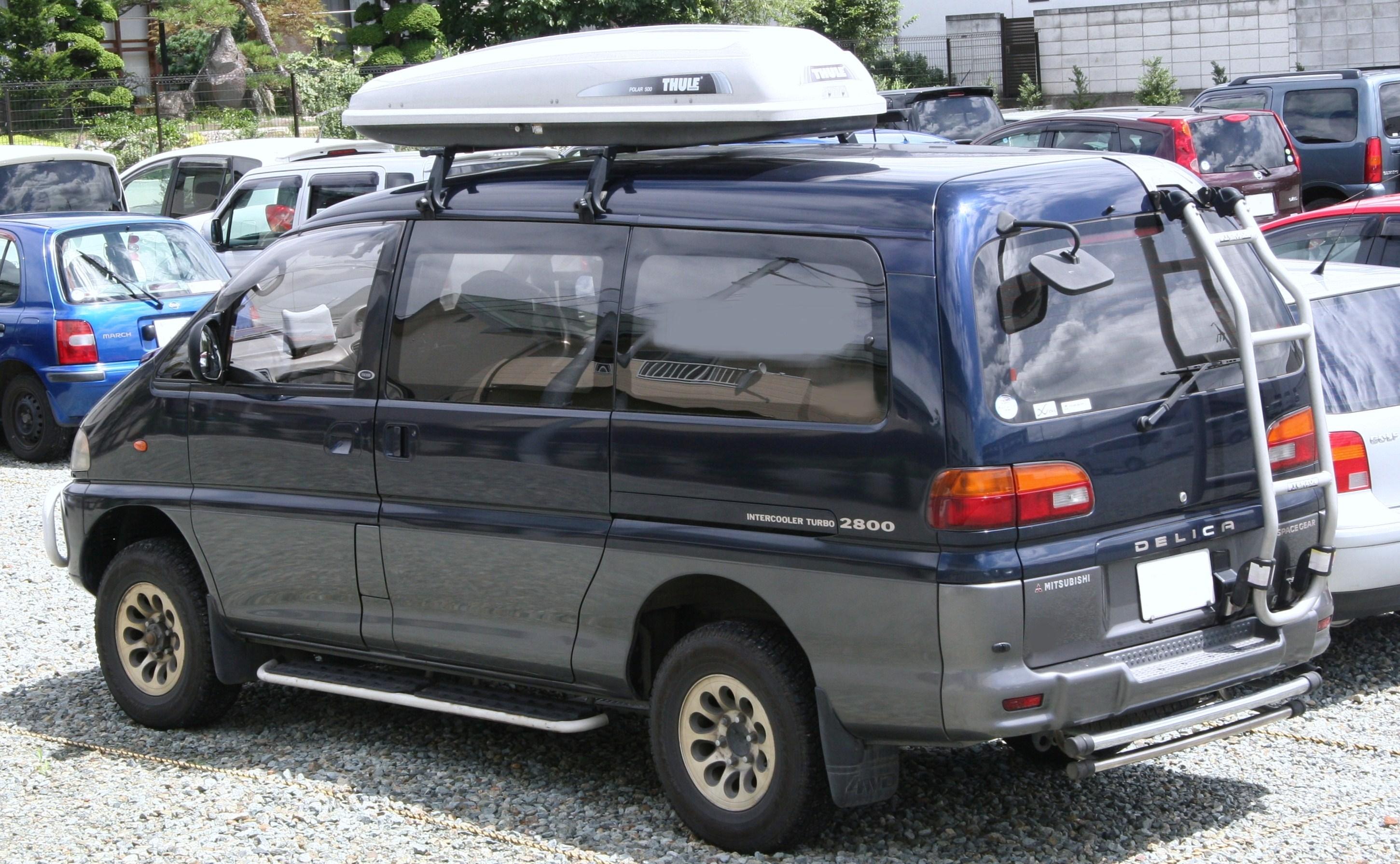 File:1994-1997 Mitsubishi Delica Space Gear rear.jpg ...