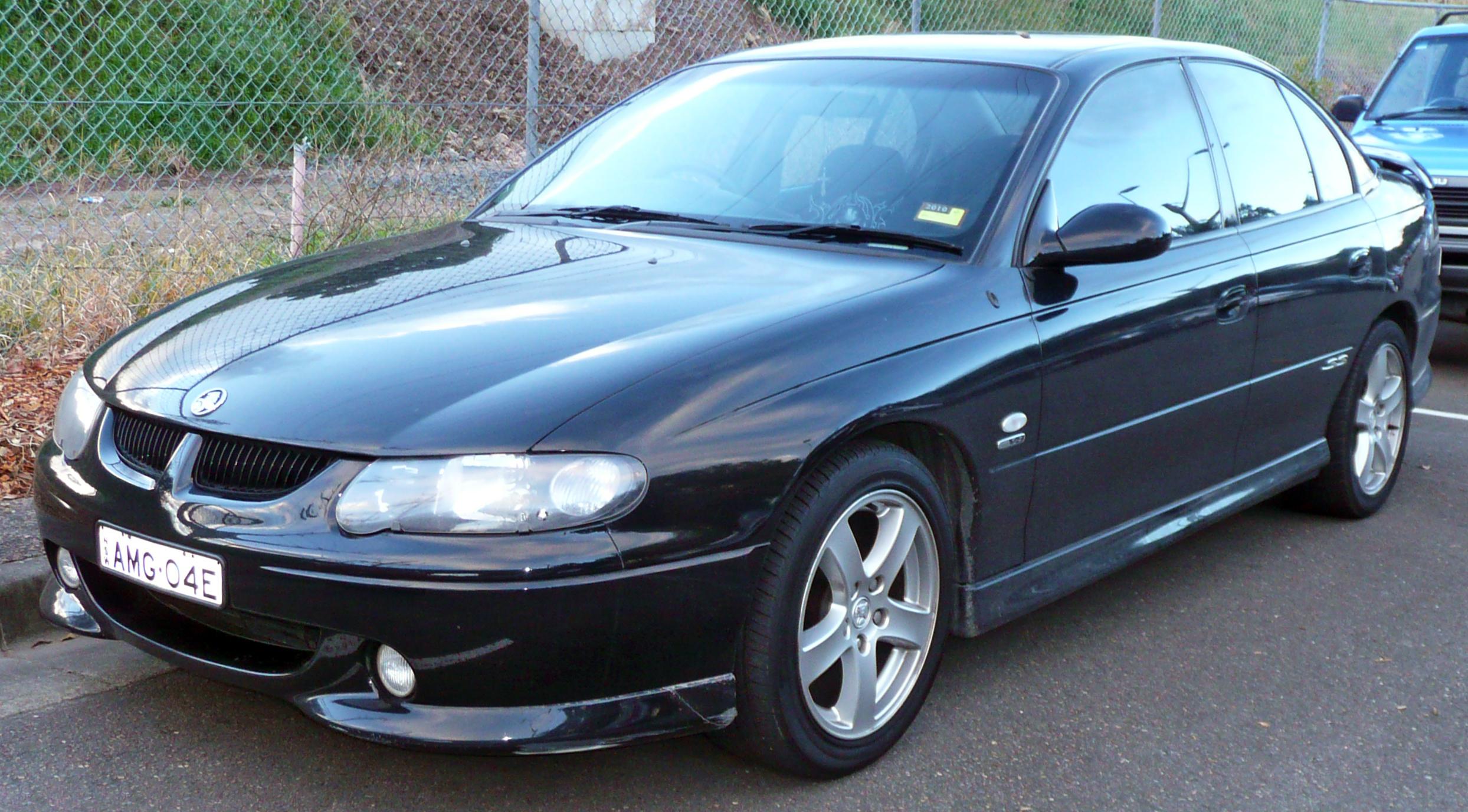 File 2001 2002 Holden Vx Ii Commodore Ss Sedan 02 Jpg