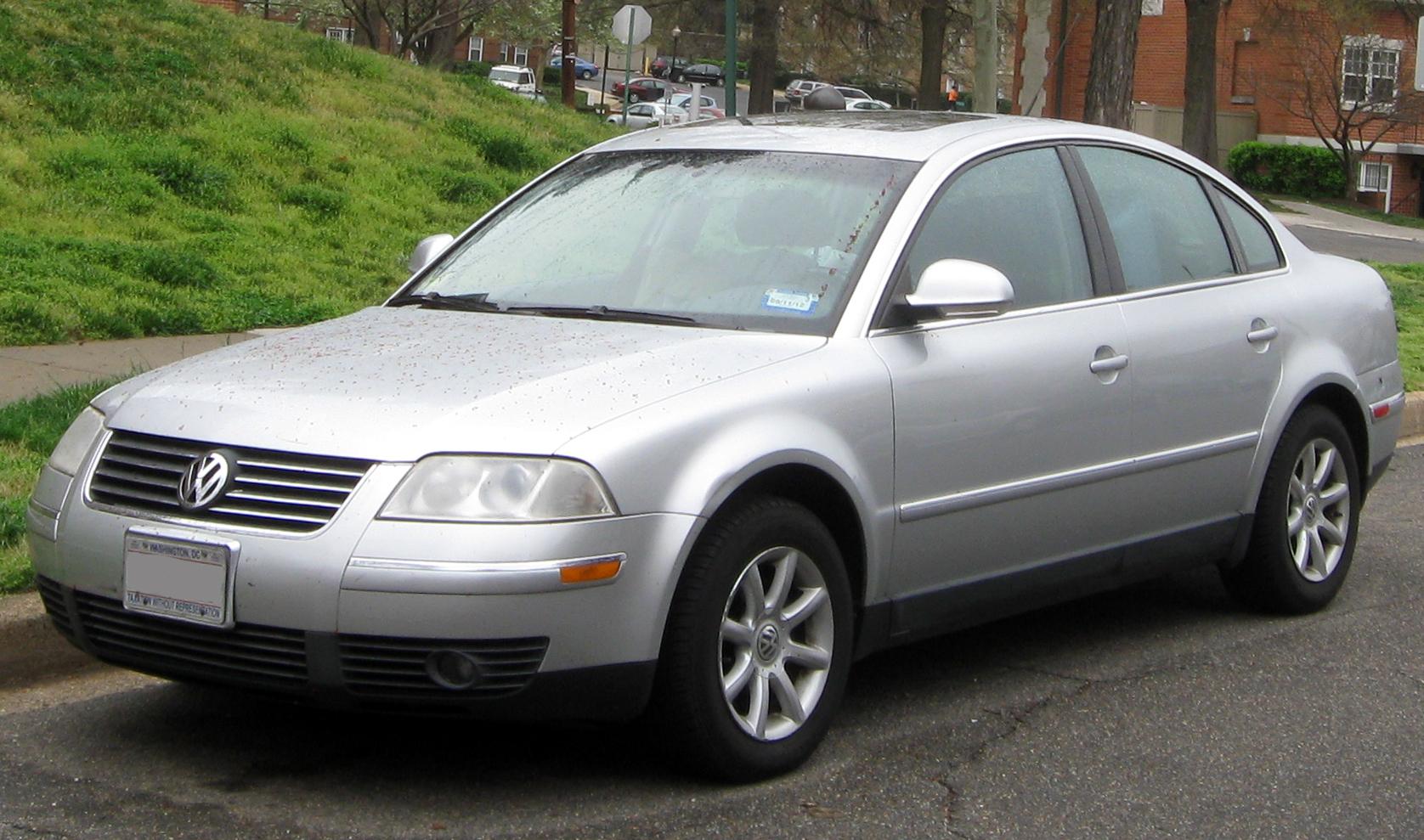 VW vw passat 2001 : File:2001-2005 Volkswagen Passat sedan -- 03-21-2012.JPG ...
