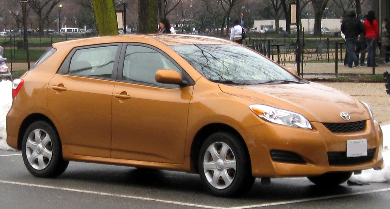 Wikipedia toyota matrix