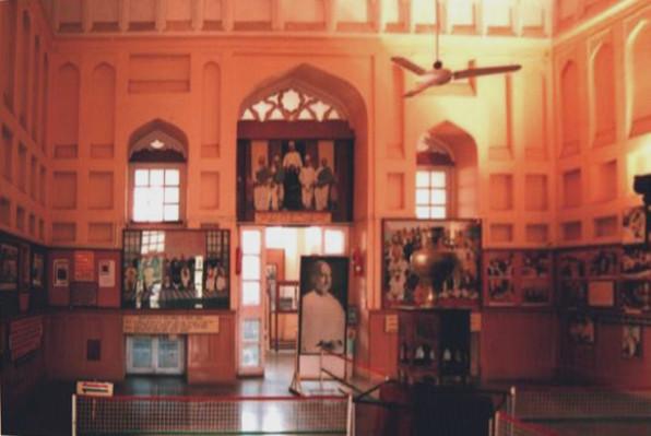 The central hall of the Sardar Vallabhbhai Patel National Memorial