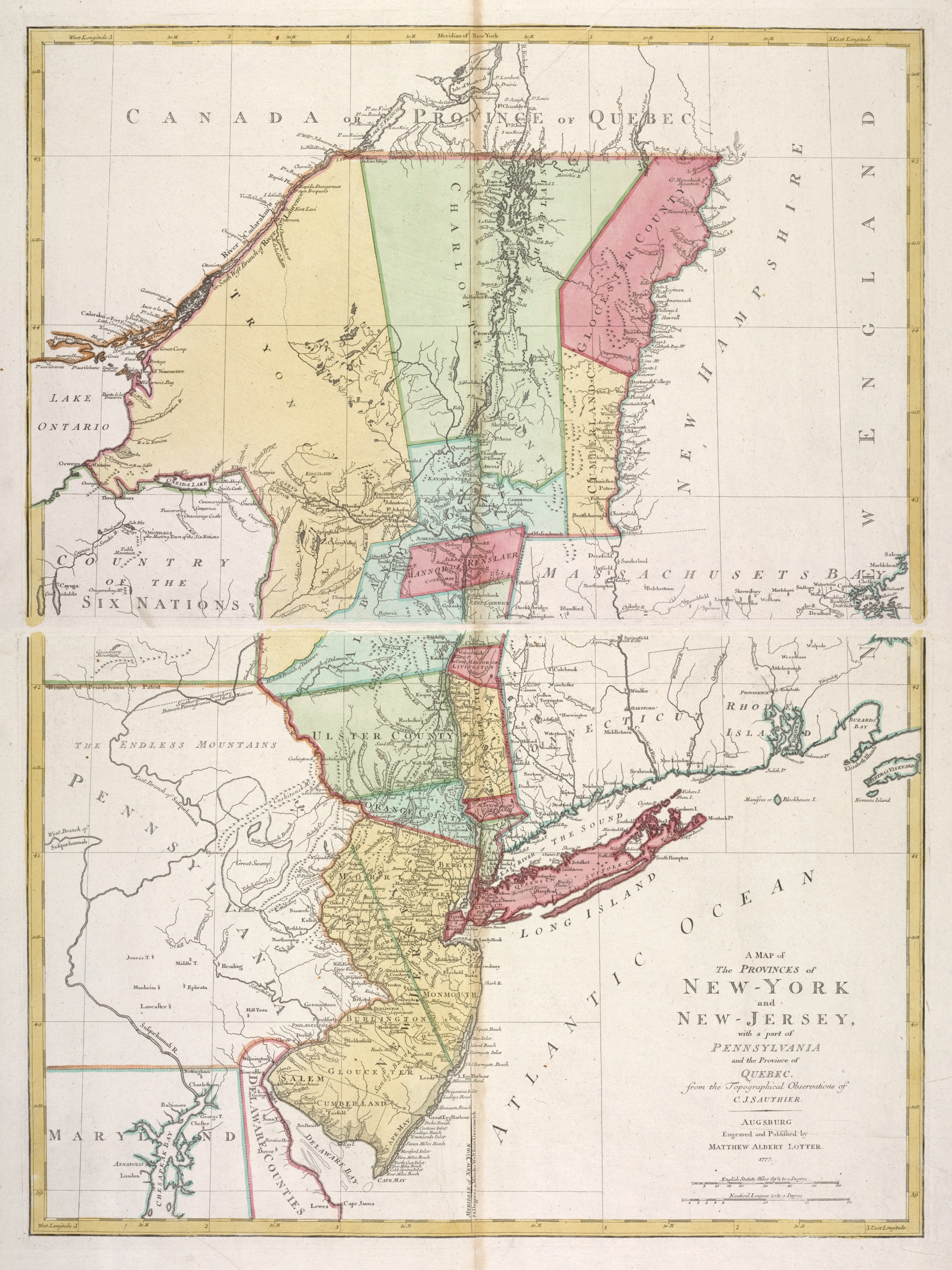 File:A map of the provinces of New-York and New Jersey ...