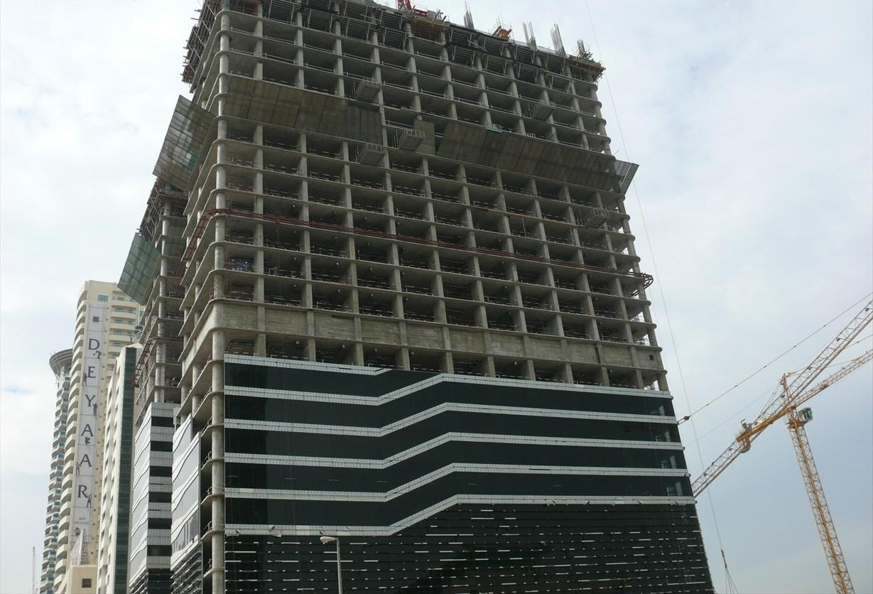 File:Acico Twin Towers Under Construction on 2 November 2007 Pict 1
