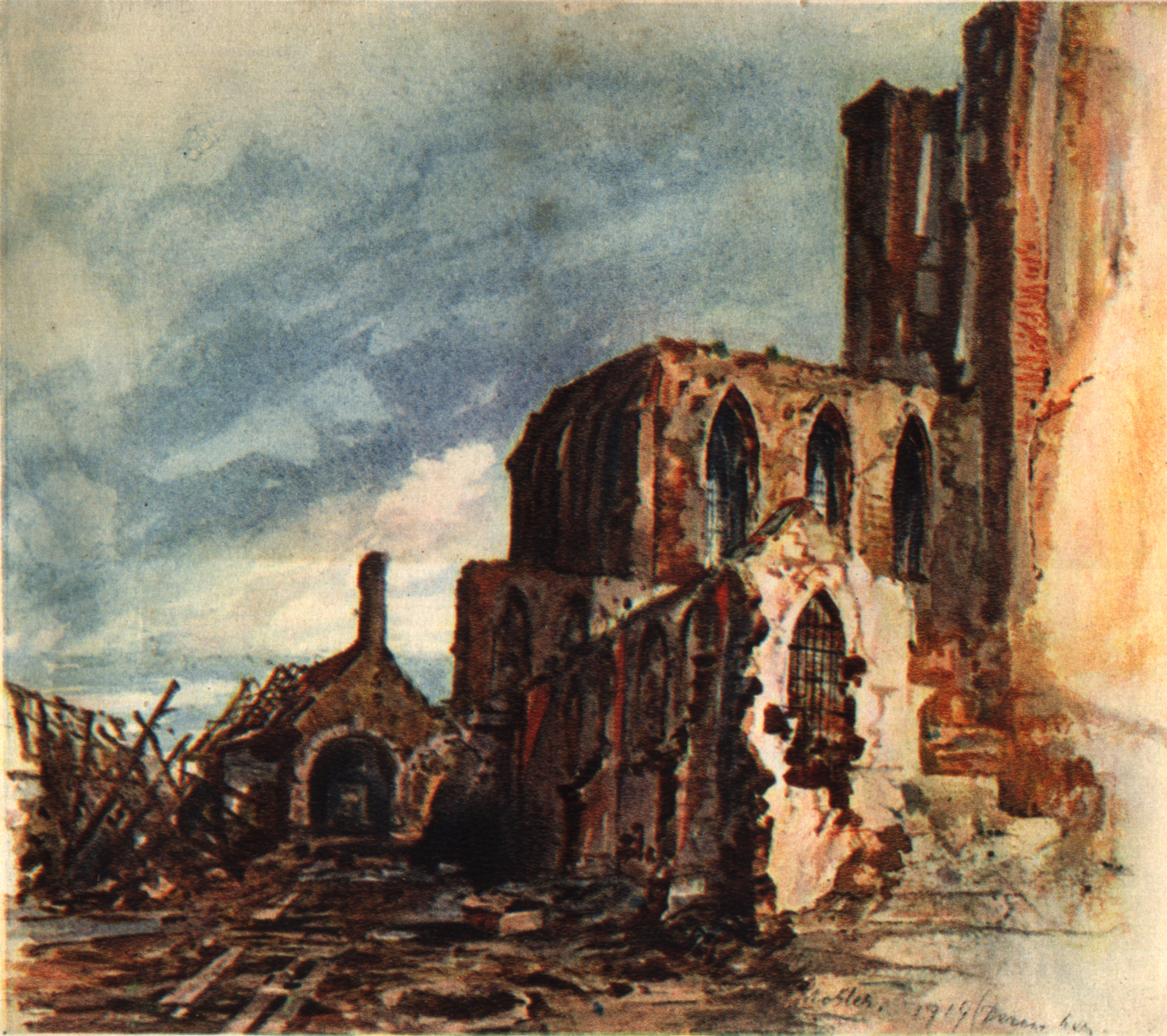 Fichier Adolf Hitler Klosterruine In Messines Dezember 1914 Jpg Wikipedia