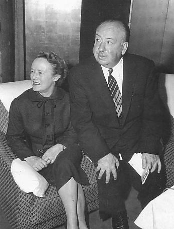 Alfred Hitchcock and wife Alma