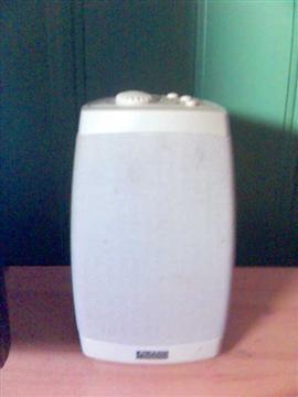 An Altec Lansing PC speaker.