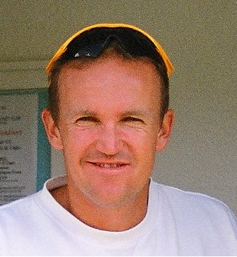 English: Andy Flower at the Paul Grayson Benef...