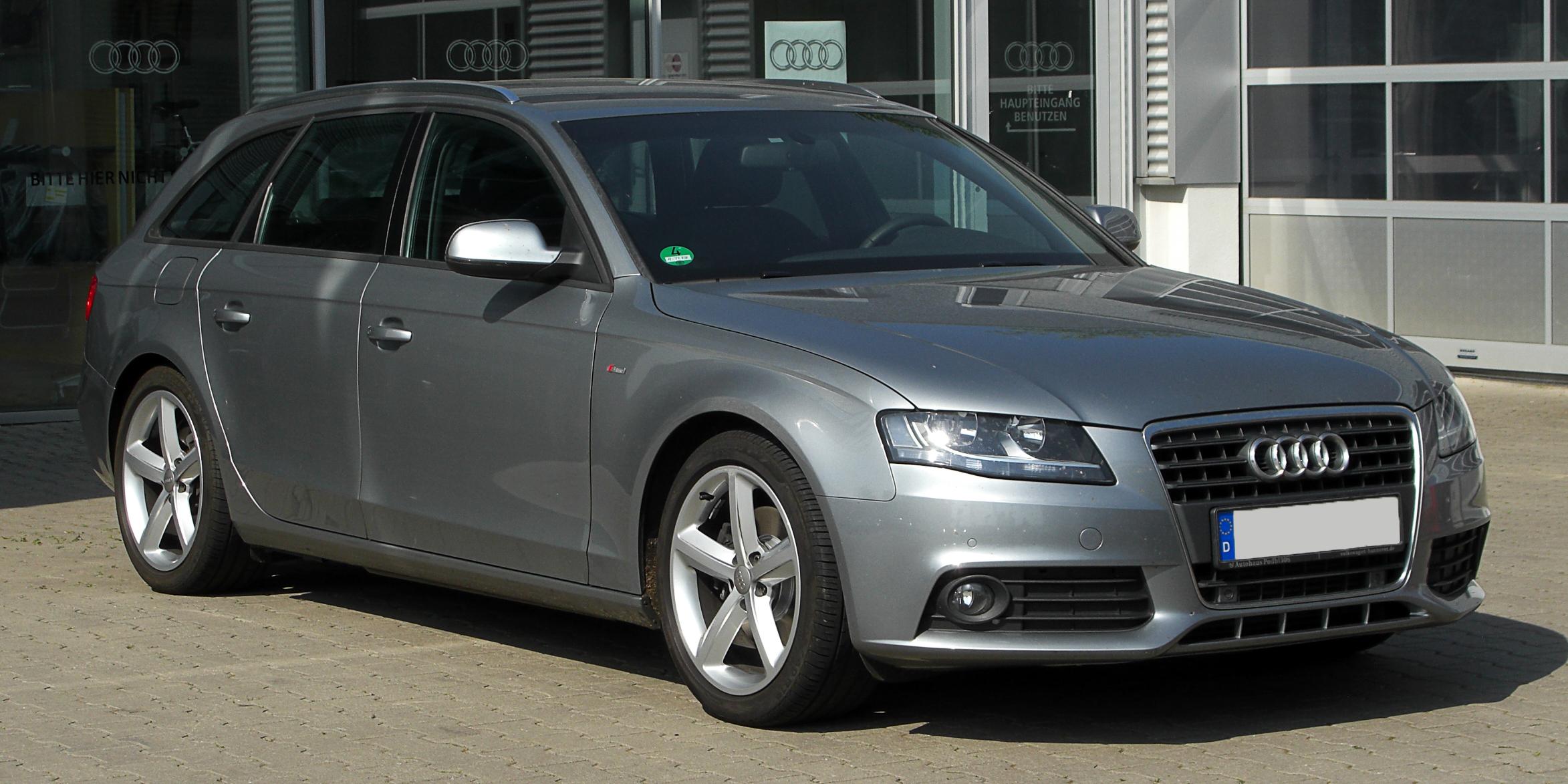 File Audi A4 Avant Ambition S Line B8 Frontansicht 7