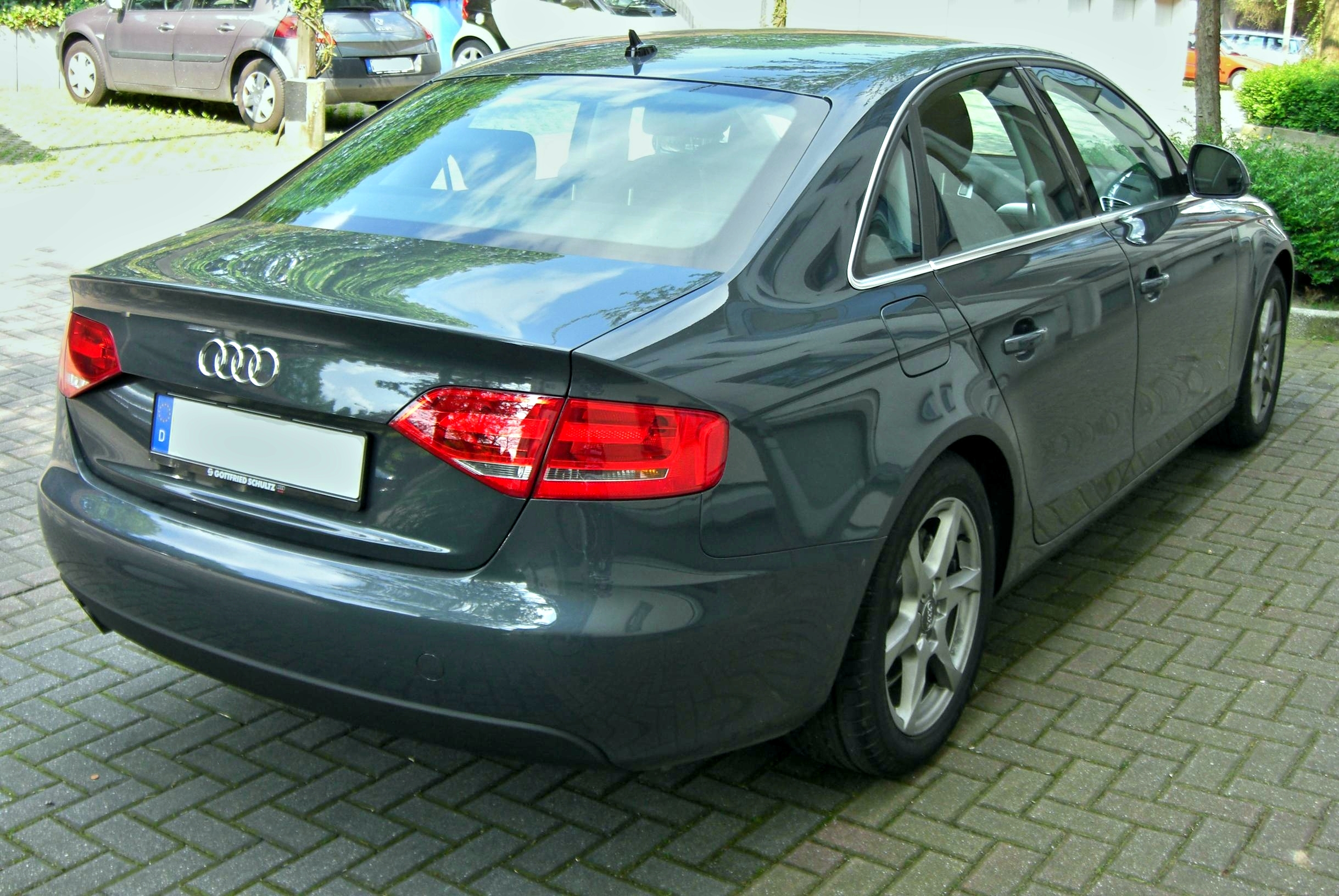 File:Audi A4 B8 rear.jpg - Wikimedia Commons