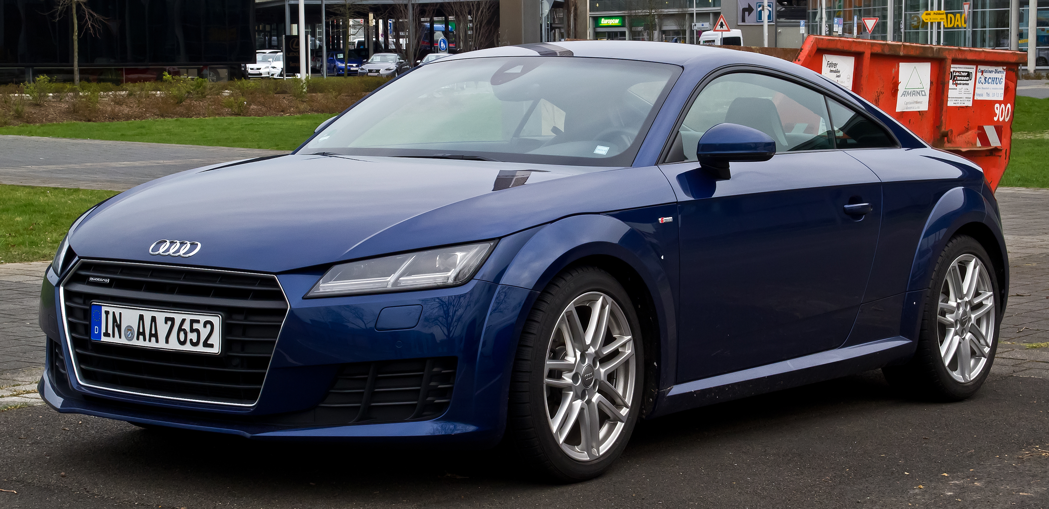 2001 audi tt coupe rs