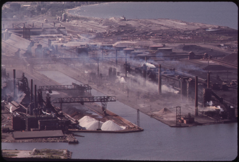 File Bethlehem Steel Plant On The Lake Erie Waterfront