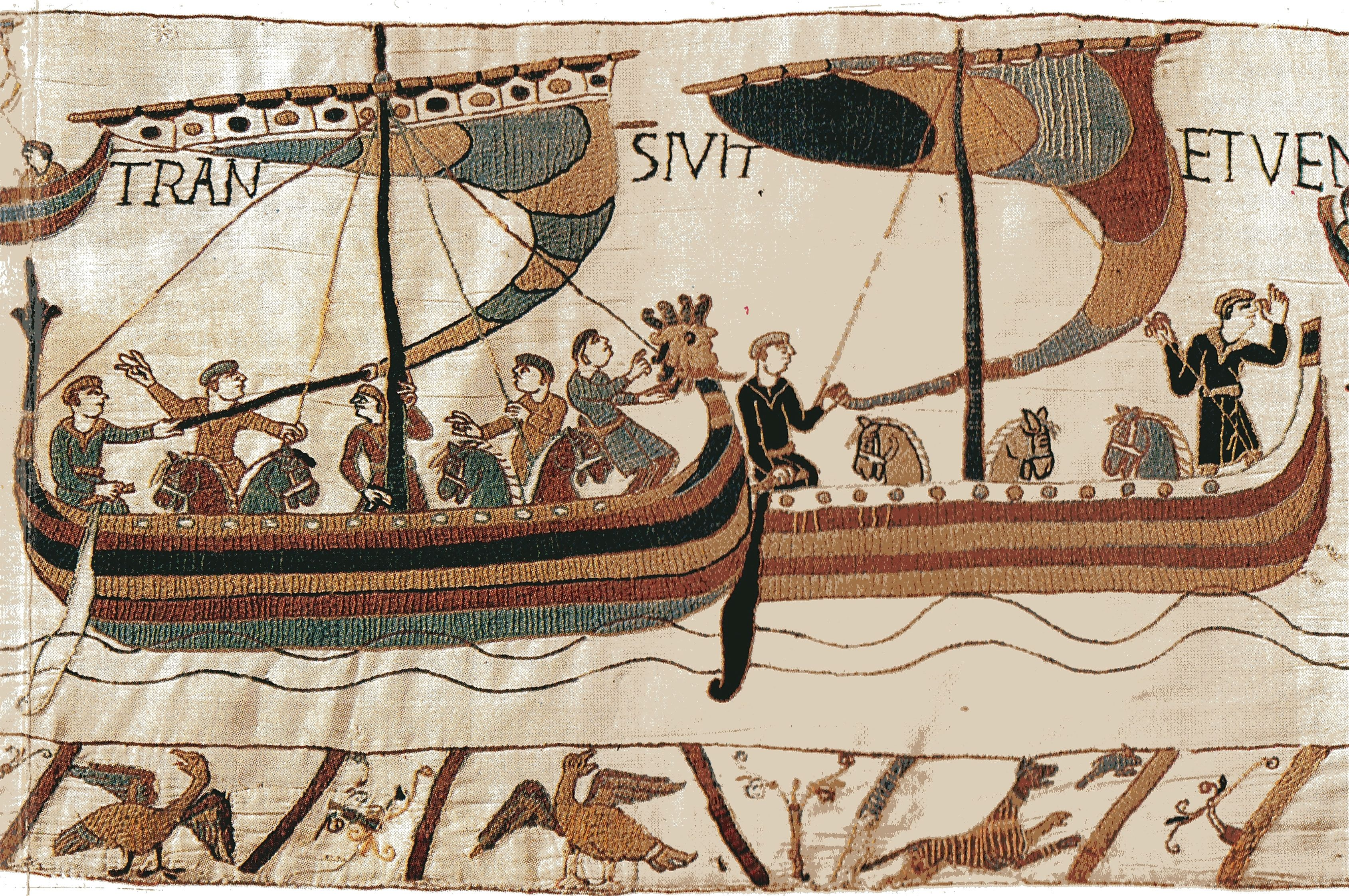 http://upload.wikimedia.org/wikipedia/commons/f/f5/Bayeux_horses_boats.jpg