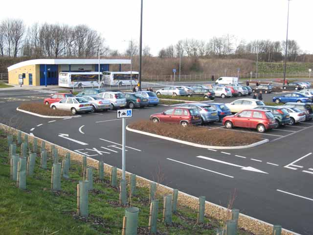 File Belmont Park And Ride Durham Geograph Org Uk 373392 Jpg