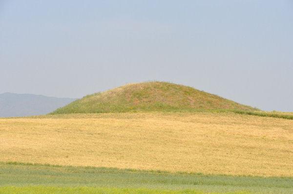 File:Bin Tepe, funeral mound.jpg